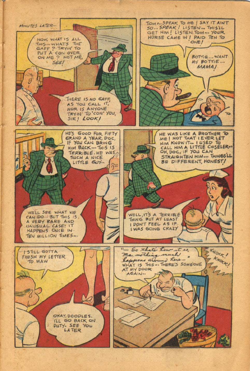 Read online Super-Magician Comics comic -  Issue #50 - 39