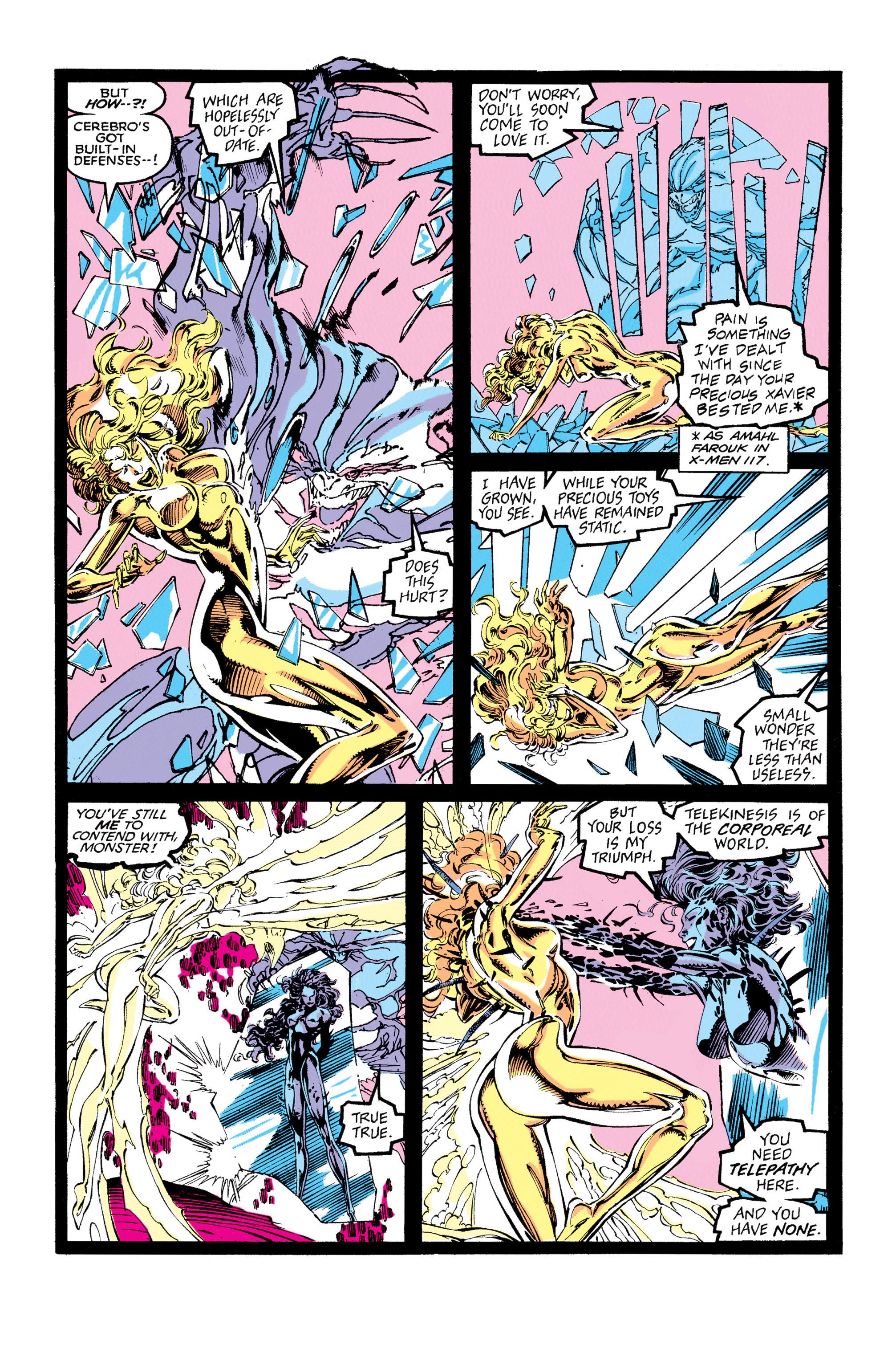 Read online Uncanny X-Men (1963) comic -  Issue #273 - 21