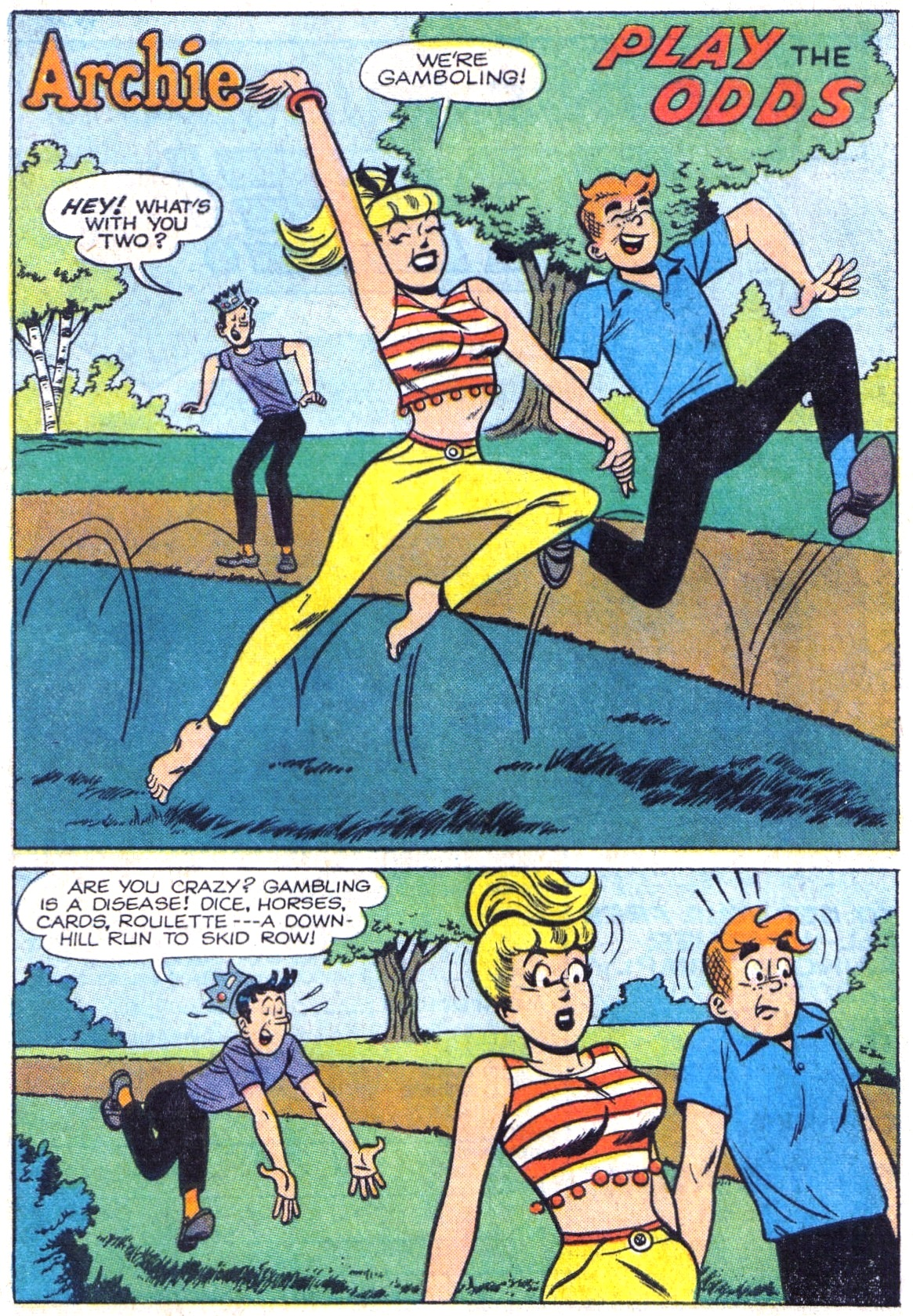 Read online Archie (1960) comic -  Issue #161 - 20