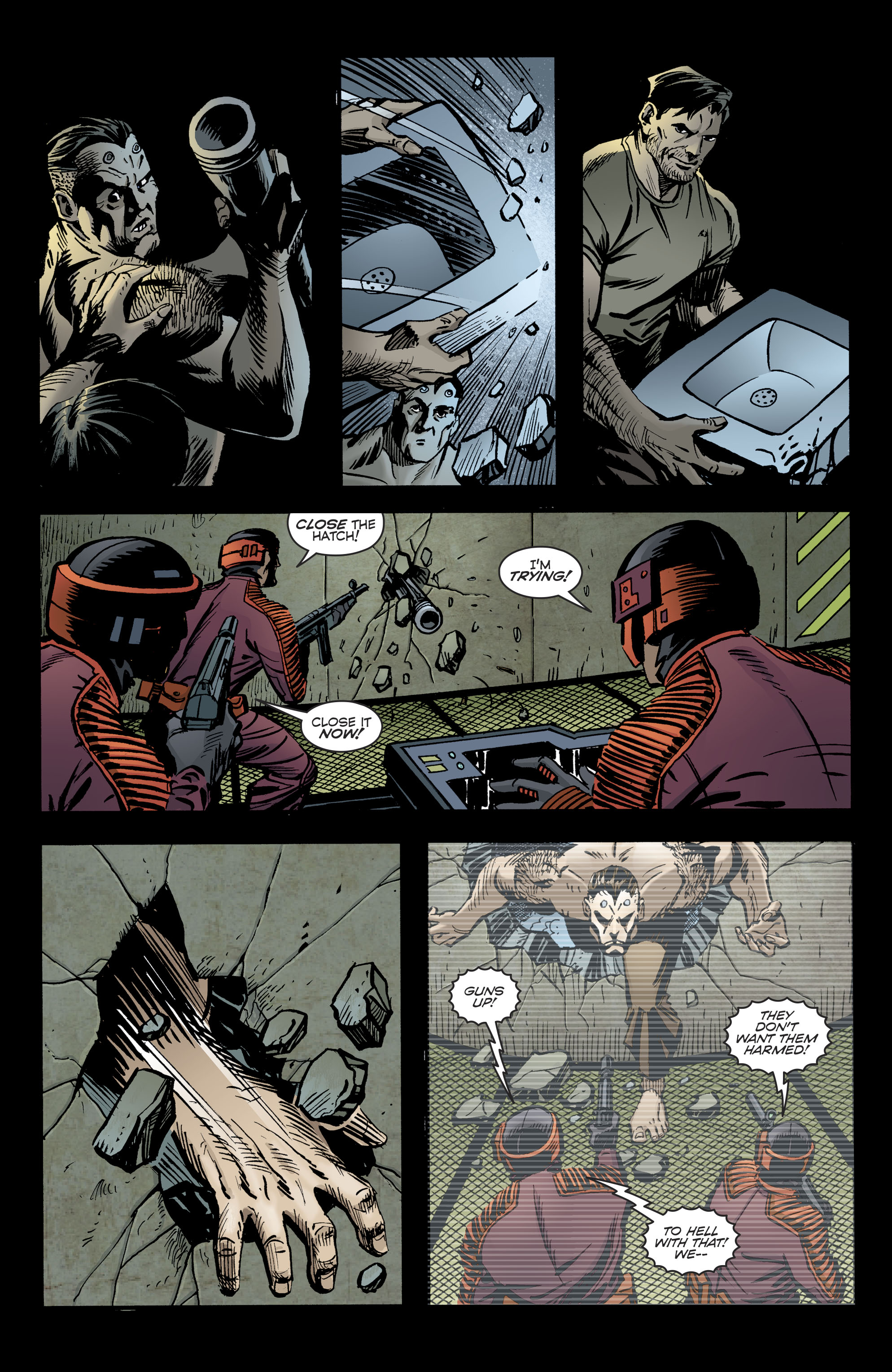 Read online Bane: Conquest comic -  Issue #2 - 19