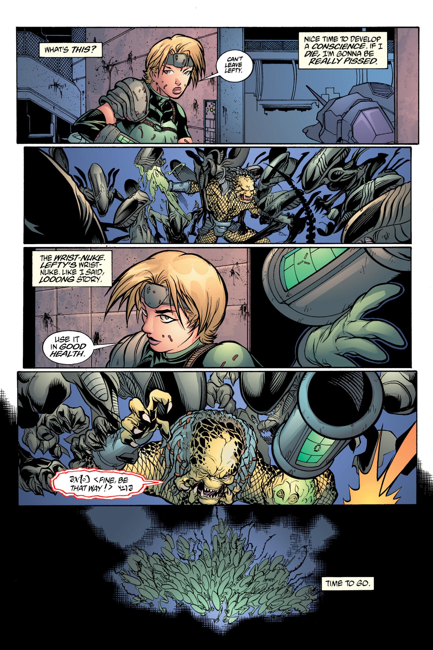 Read online Aliens vs. Predator Omnibus comic -  Issue # _TPB 2 Part 4 - 24