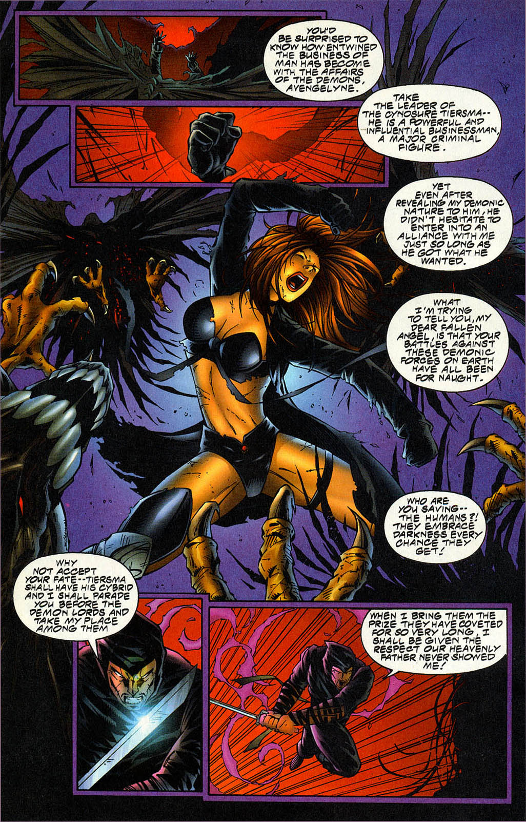 Read online Avengelyne (1996) comic -  Issue #5 - 17
