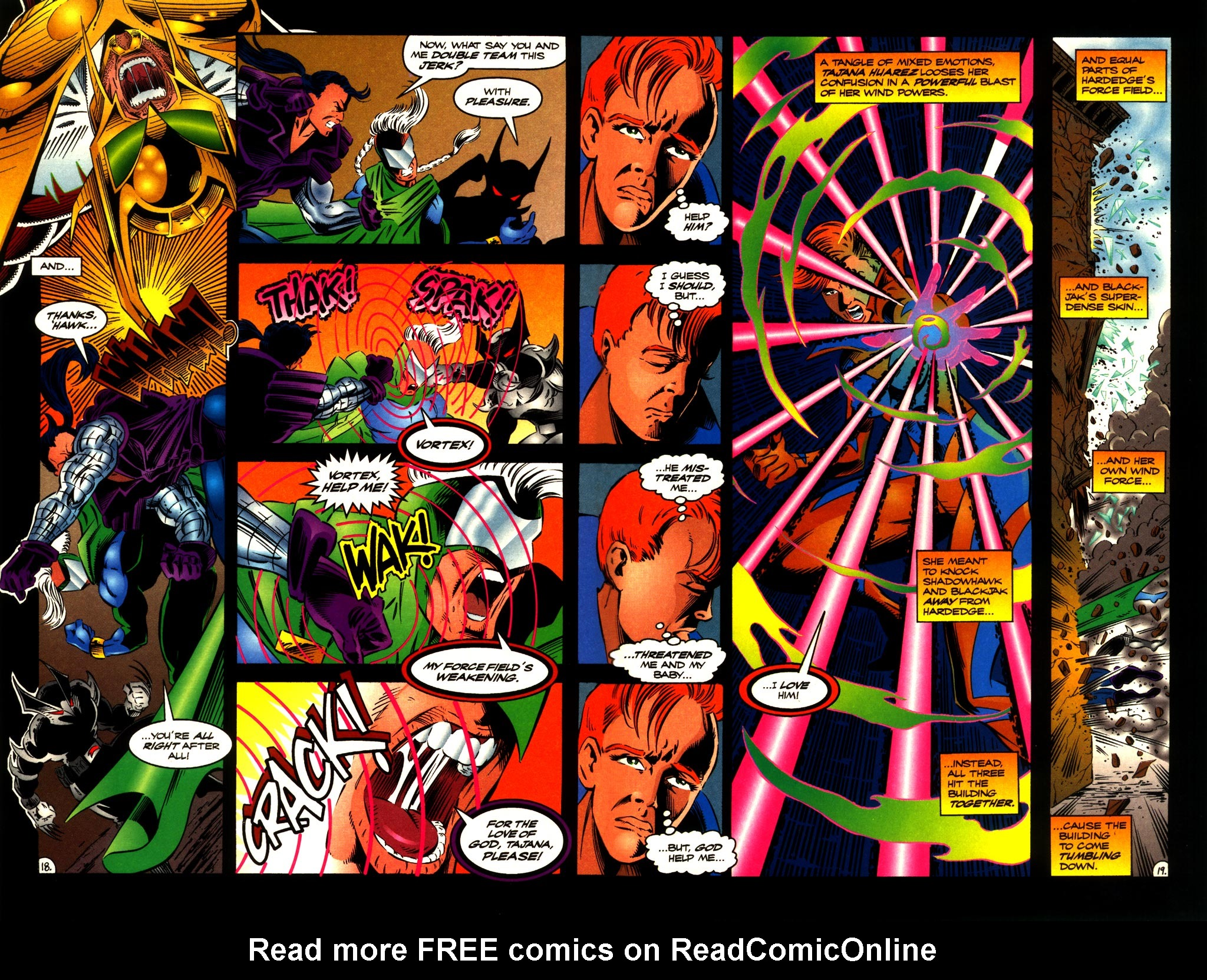 Read online ShadowHawk comic -  Issue #10 - 20