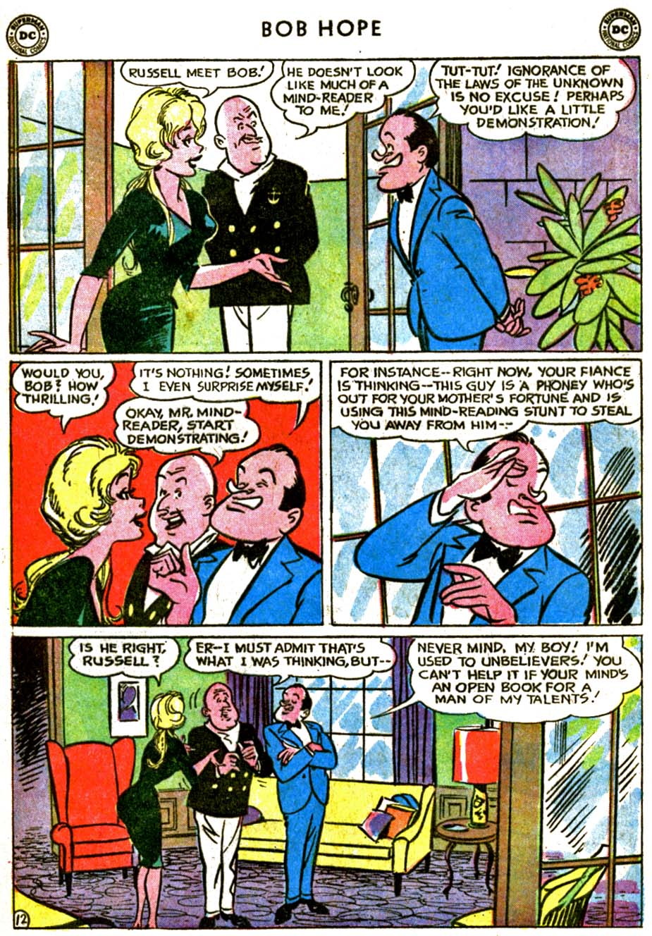 The Adventures of Bob Hope issue 77 - Page 17