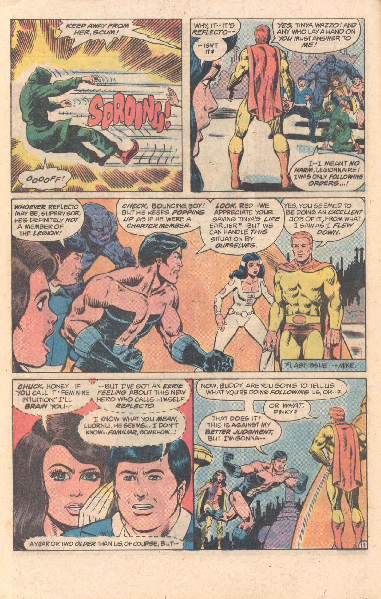 Legion of Super-Heroes (1980) 278 Page 11