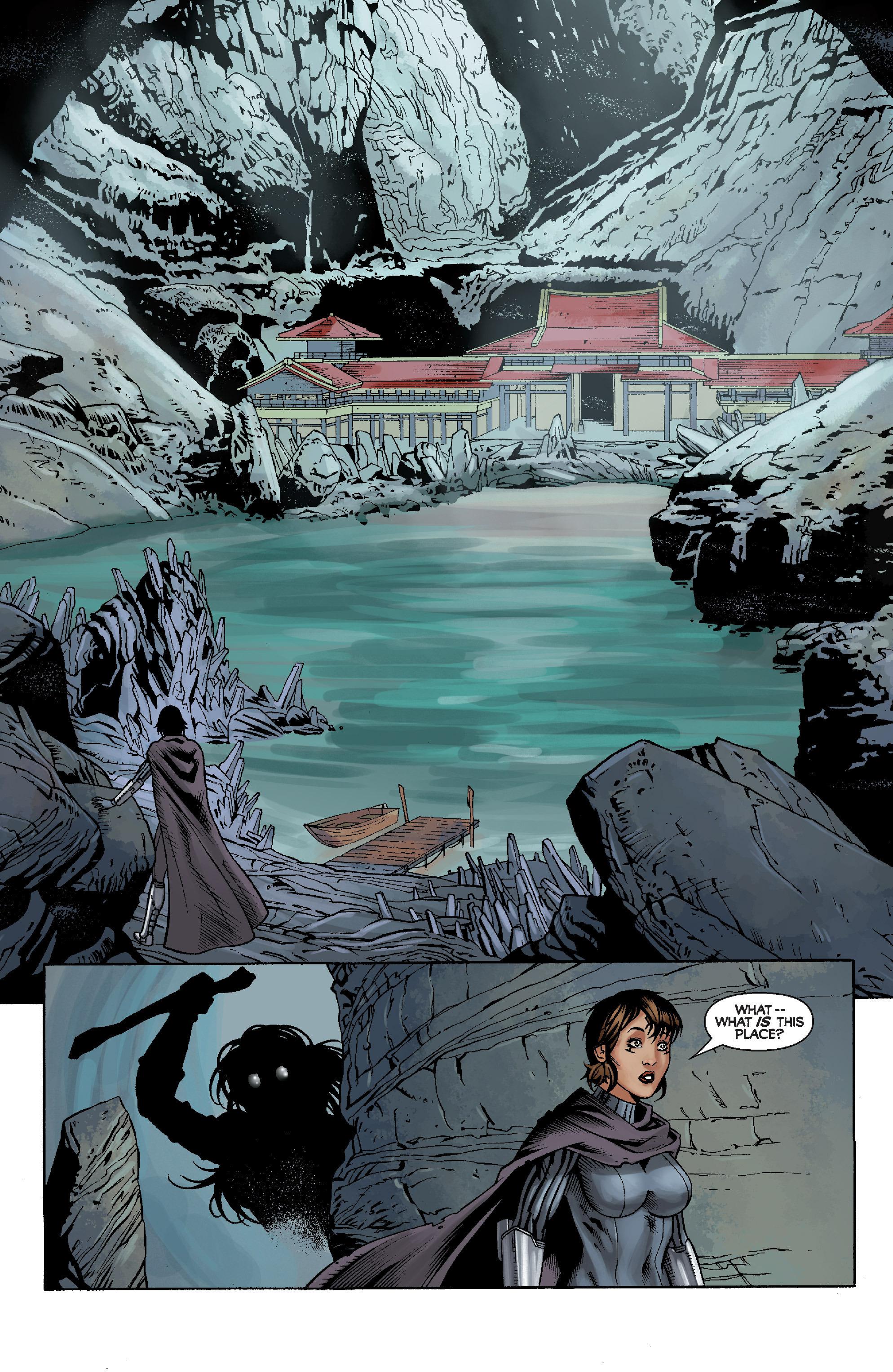 Read online Star Wars: Knight Errant - Escape comic -  Issue #2 - 12