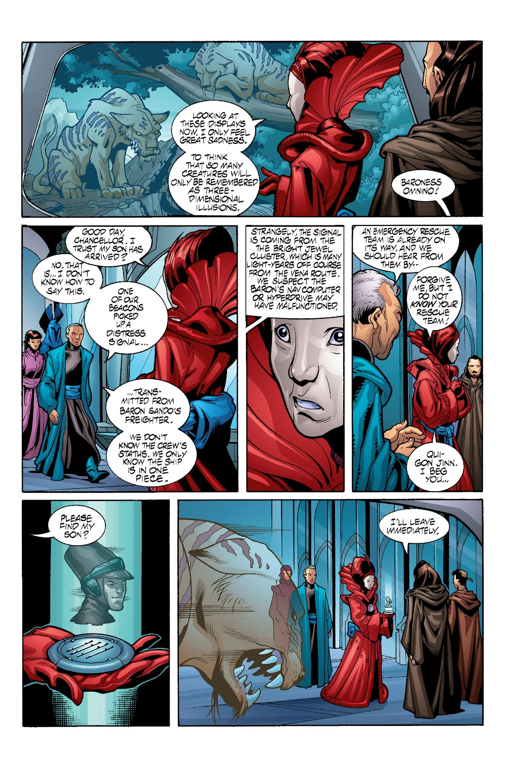 Read online Star Wars Legends: Rise of the Sith - Epic Collection comic -  Issue # TPB 1 (Part 3) - 80