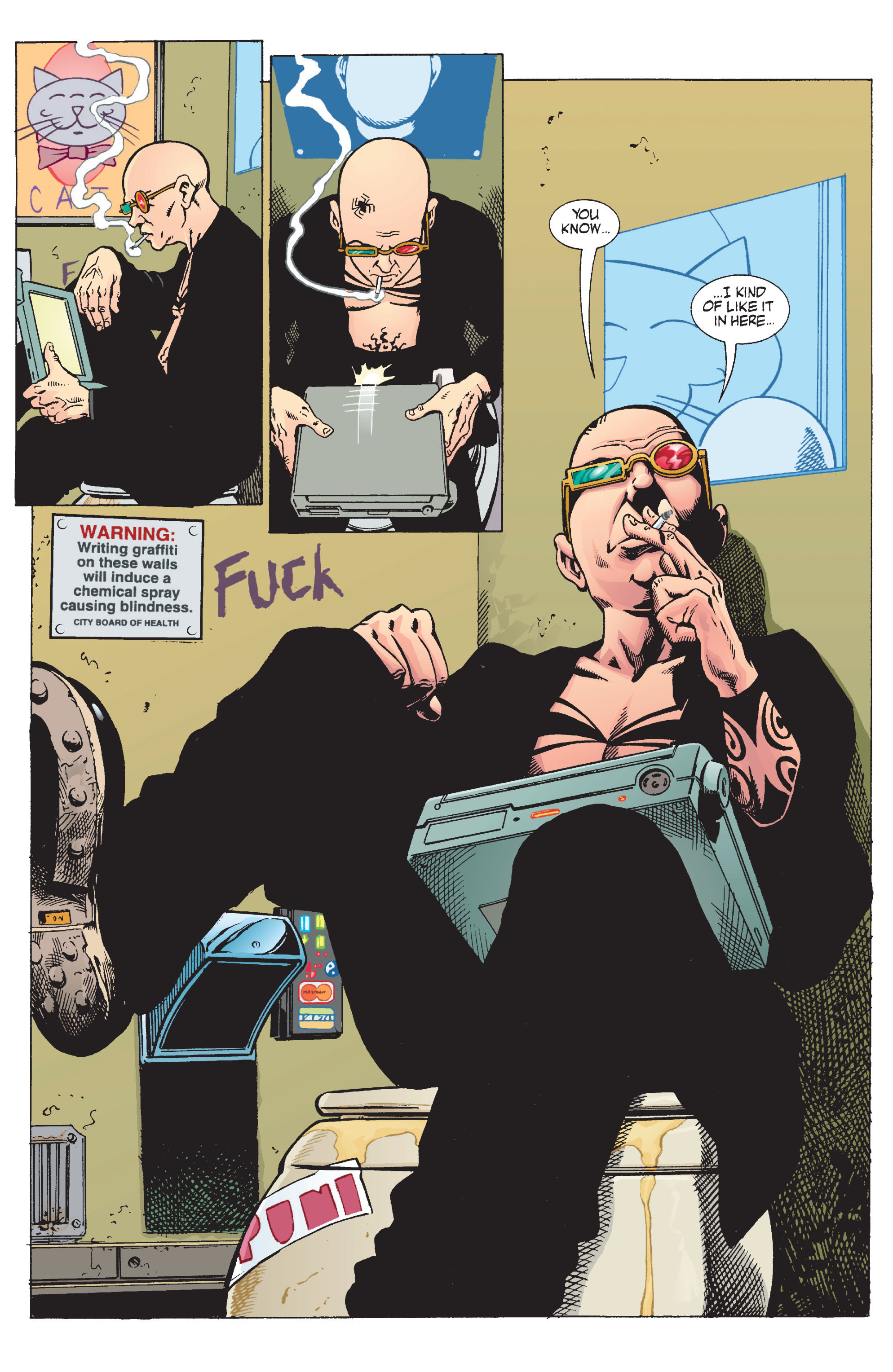 Read online Transmetropolitan comic -  Issue #11 - 21