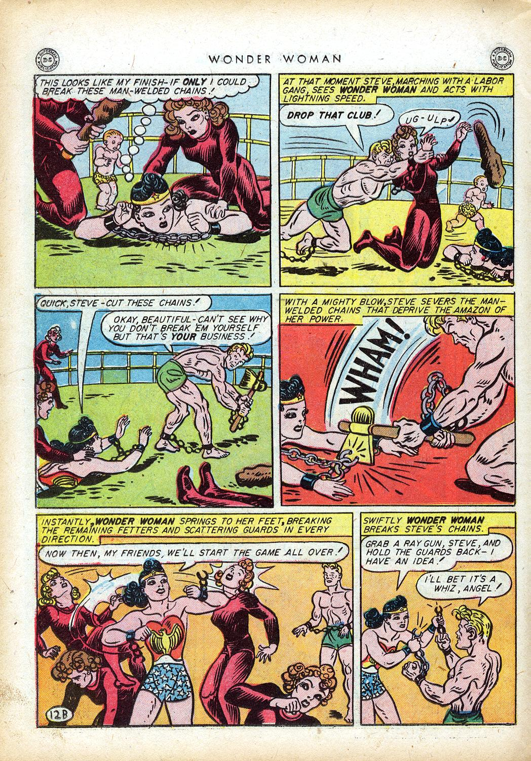 Read online Wonder Woman (1942) comic -  Issue #10 - 33