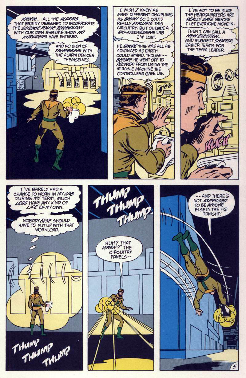 Legion of Super-Heroes (1984) 59 Page 5