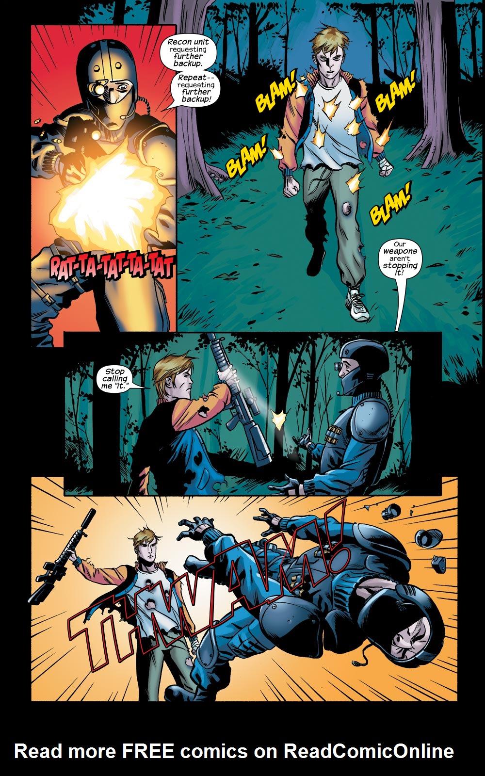Read online Machine Teen comic -  Issue #3 - 16