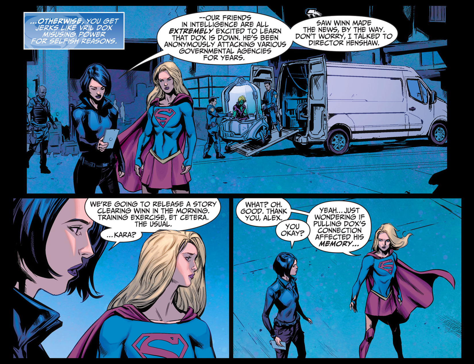 Read online Adventures of Supergirl comic -  Issue #5 - 21