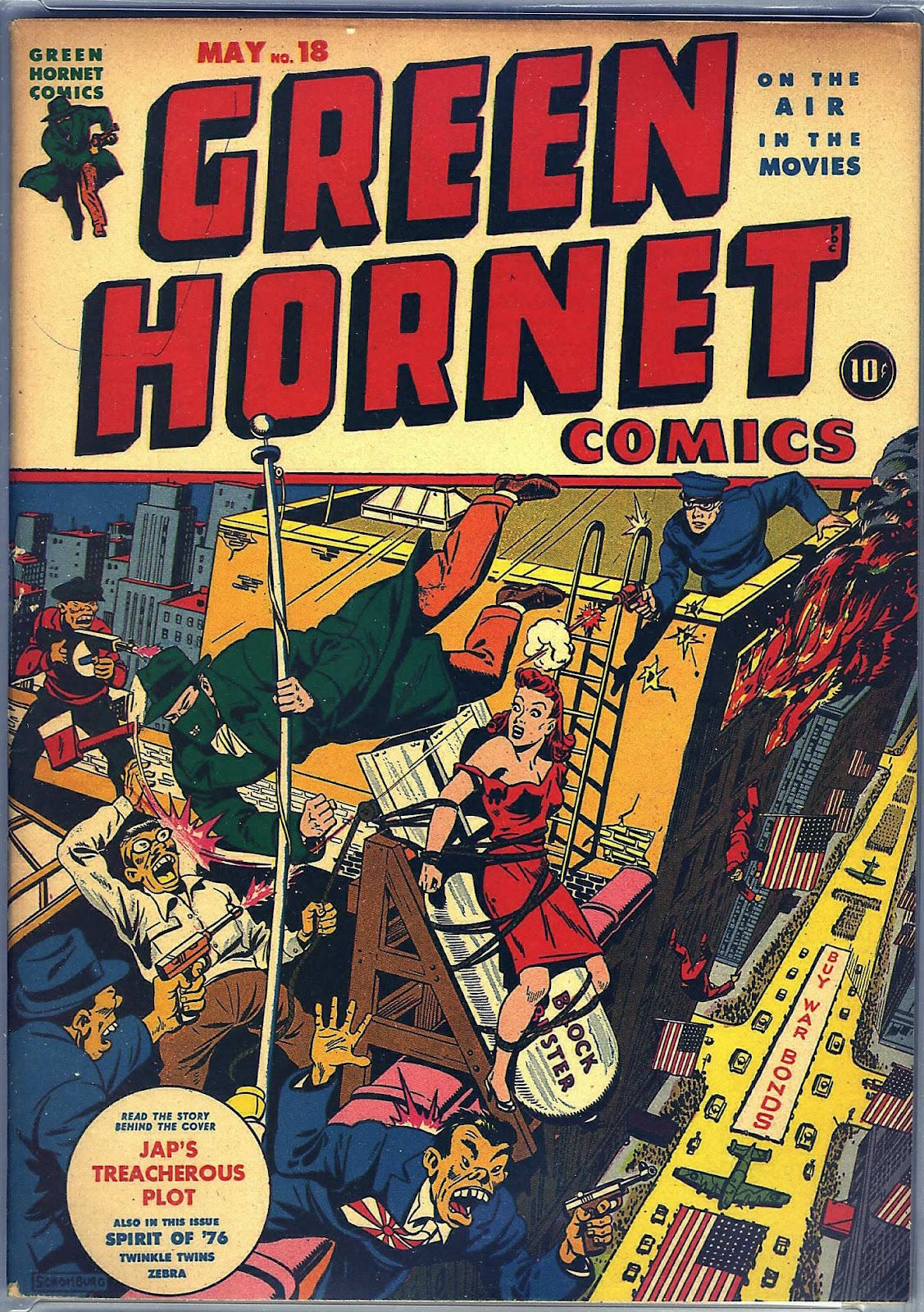 Green Hornet Comics issue 18 - Page 1