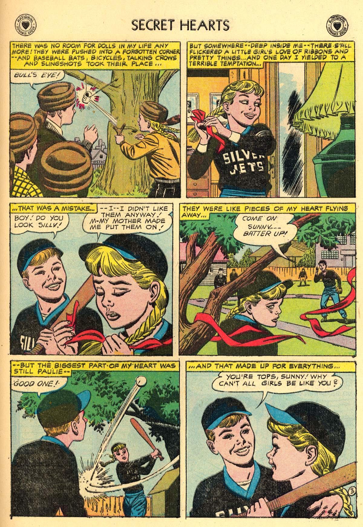 Read online Secret Hearts comic -  Issue #43 - 29