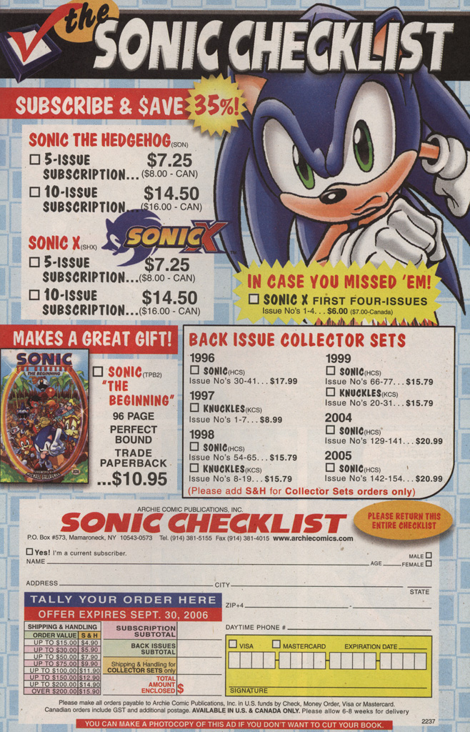 Read online Sonic X comic -  Issue #10 - 31