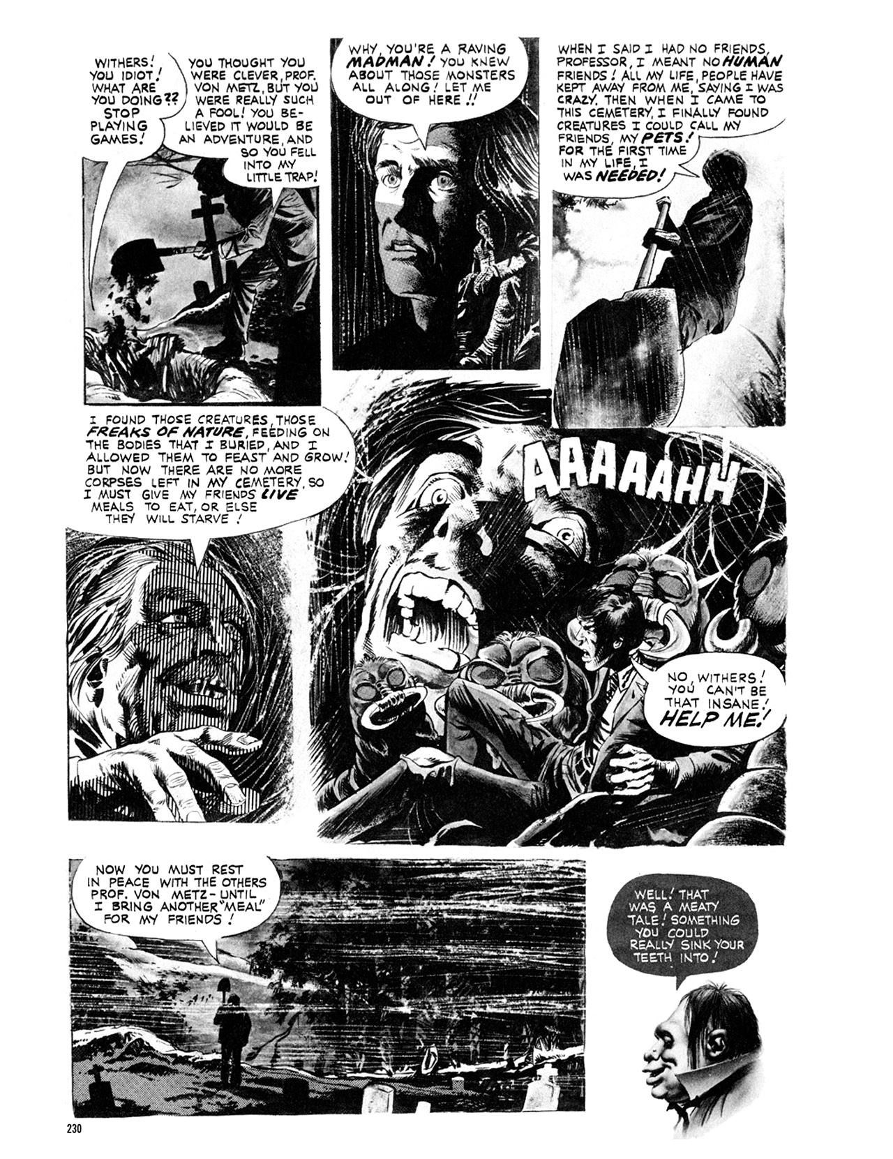 Read online Eerie Archives comic -  Issue # TPB 9 - 231