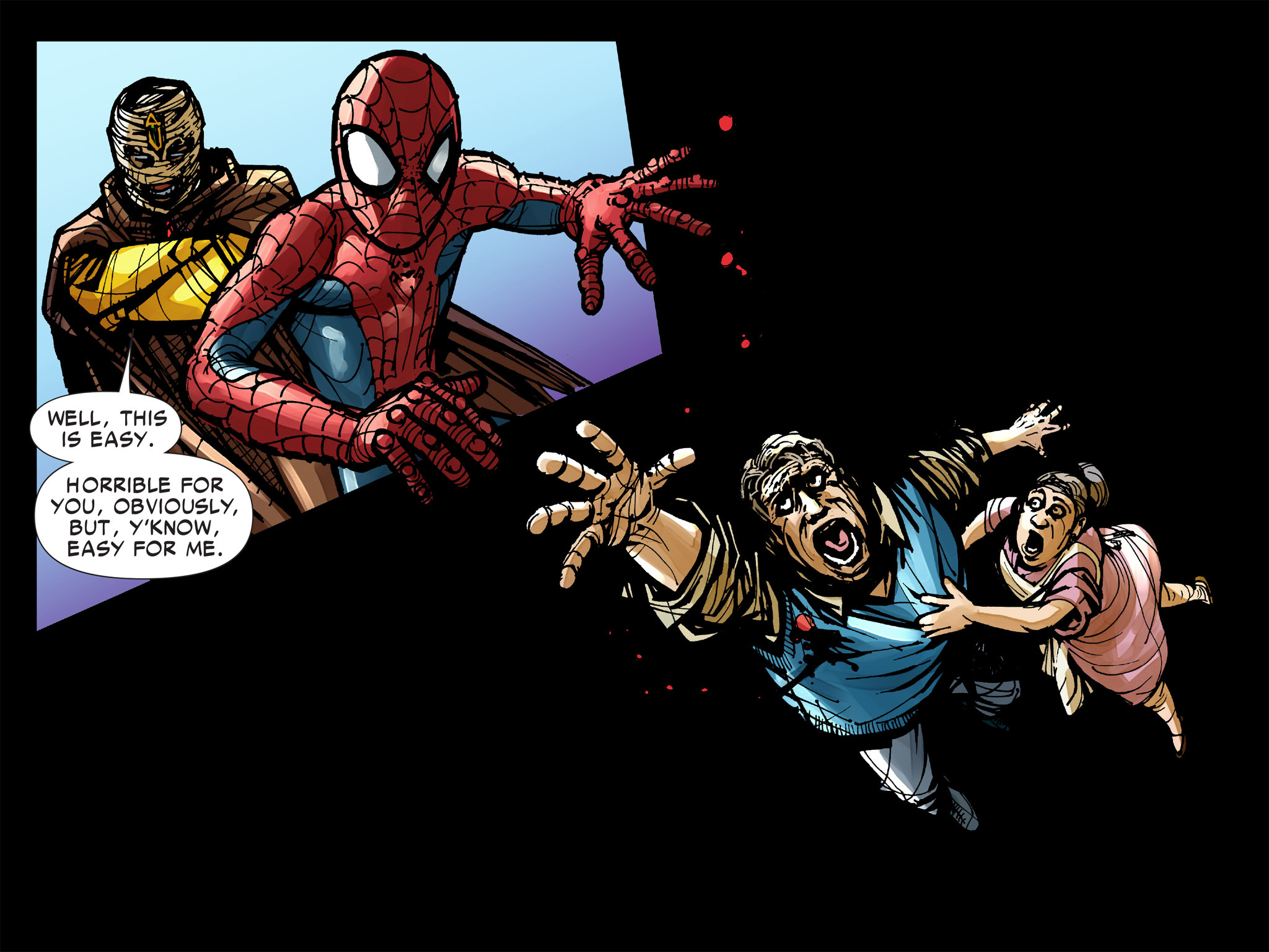Read online Amazing Spider-Man: Who Am I? comic -  Issue # Full (Part 2) - 181