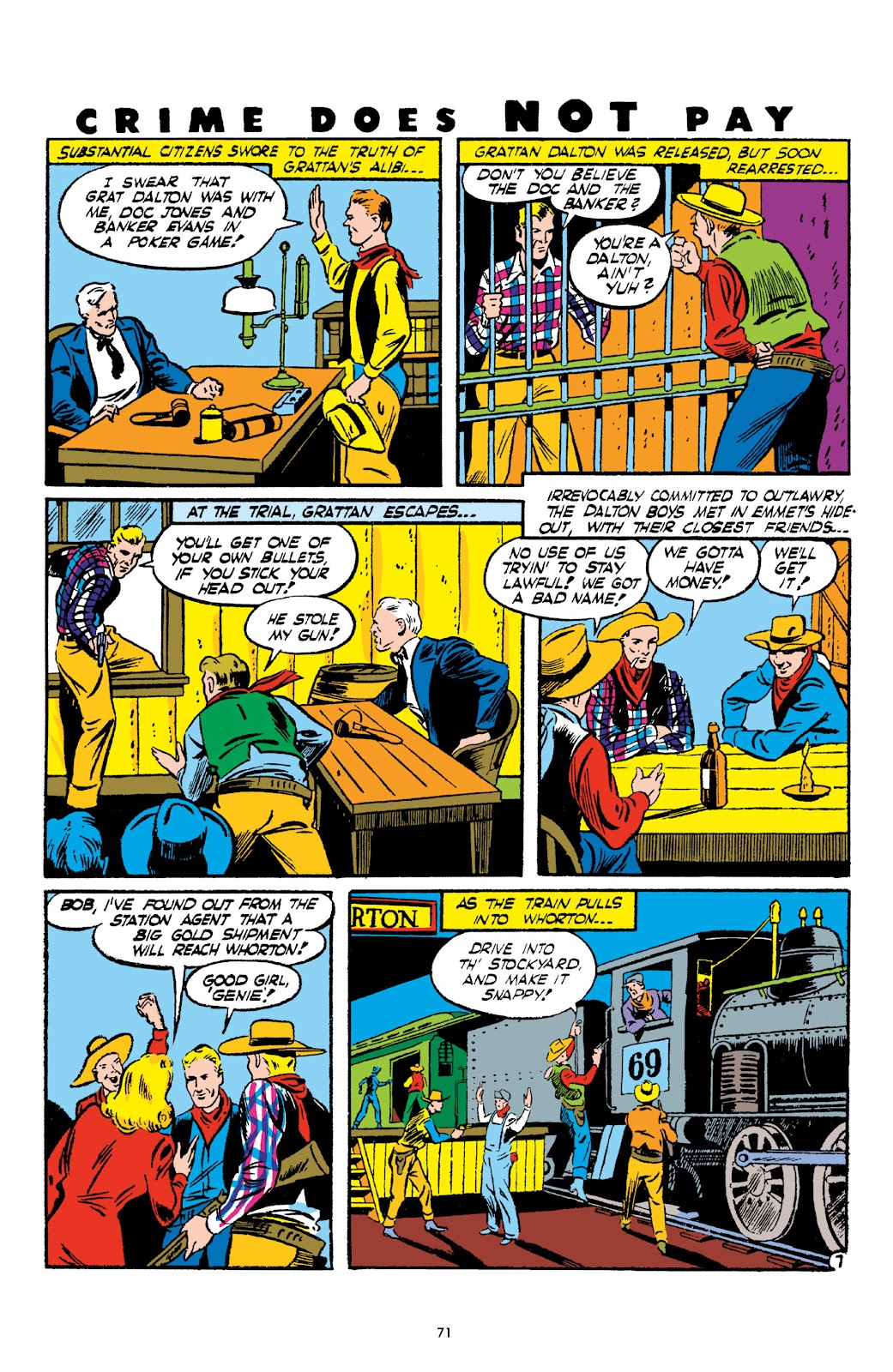 Read online Crime Does Not Pay Archives comic -  Issue # TPB 2 (Part 1) - 71