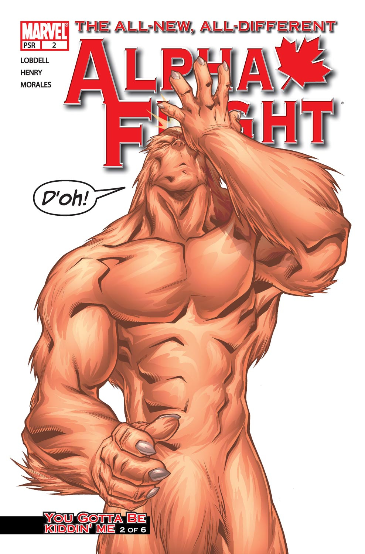 Read online Alpha Flight (2004) comic -  Issue #2 - 1