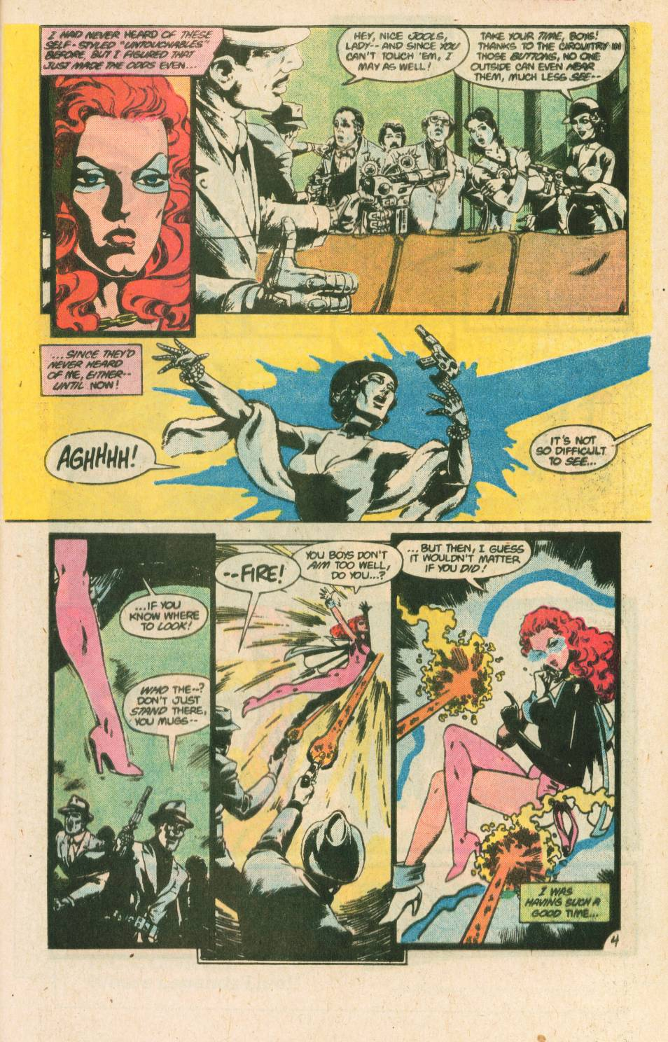 Read online Adventures of the Outsiders comic -  Issue #40 - 27