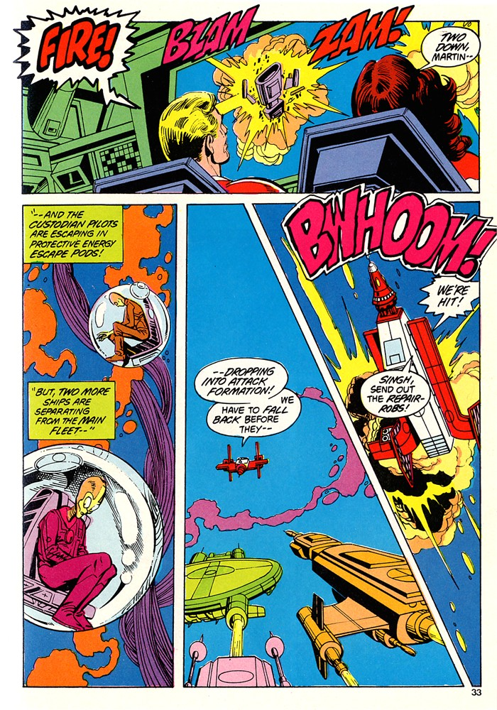 Read online Atari Force (1982) comic -  Issue #5 - 35