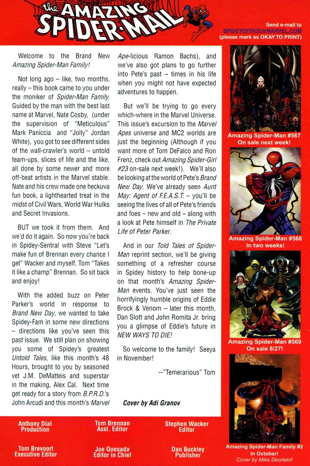 Amazing Spider-Man Family Issue #1 #1 - English 94