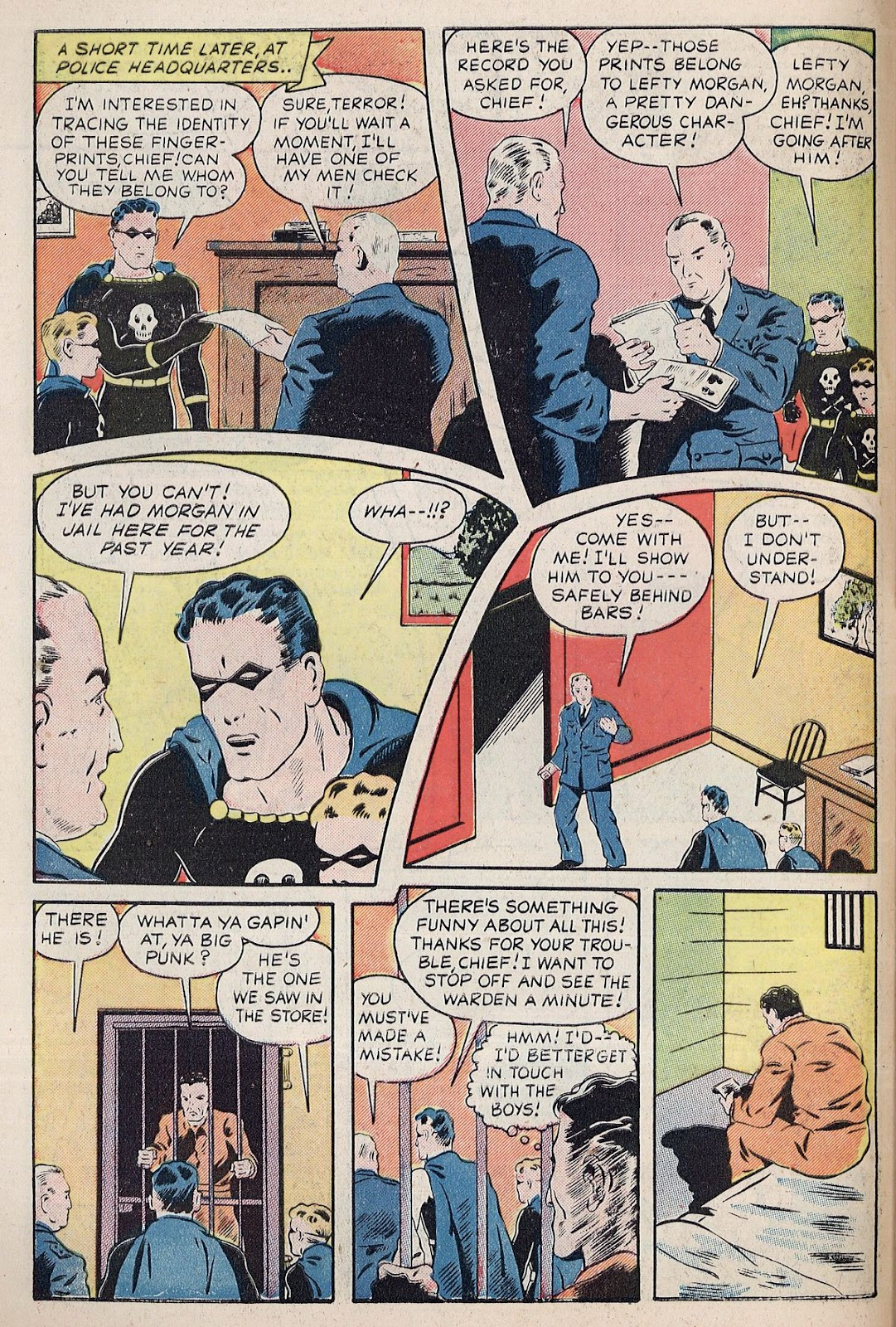 Exciting Comics (1940) issue 38 - Page 6