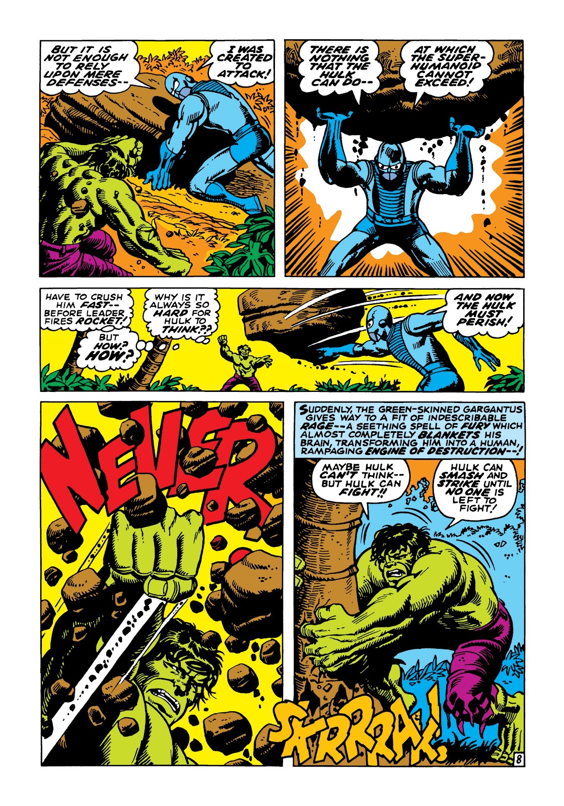 Read online Marvel Masterworks: The Incredible Hulk comic -  Issue # TPB 5 (Part 2) - 40