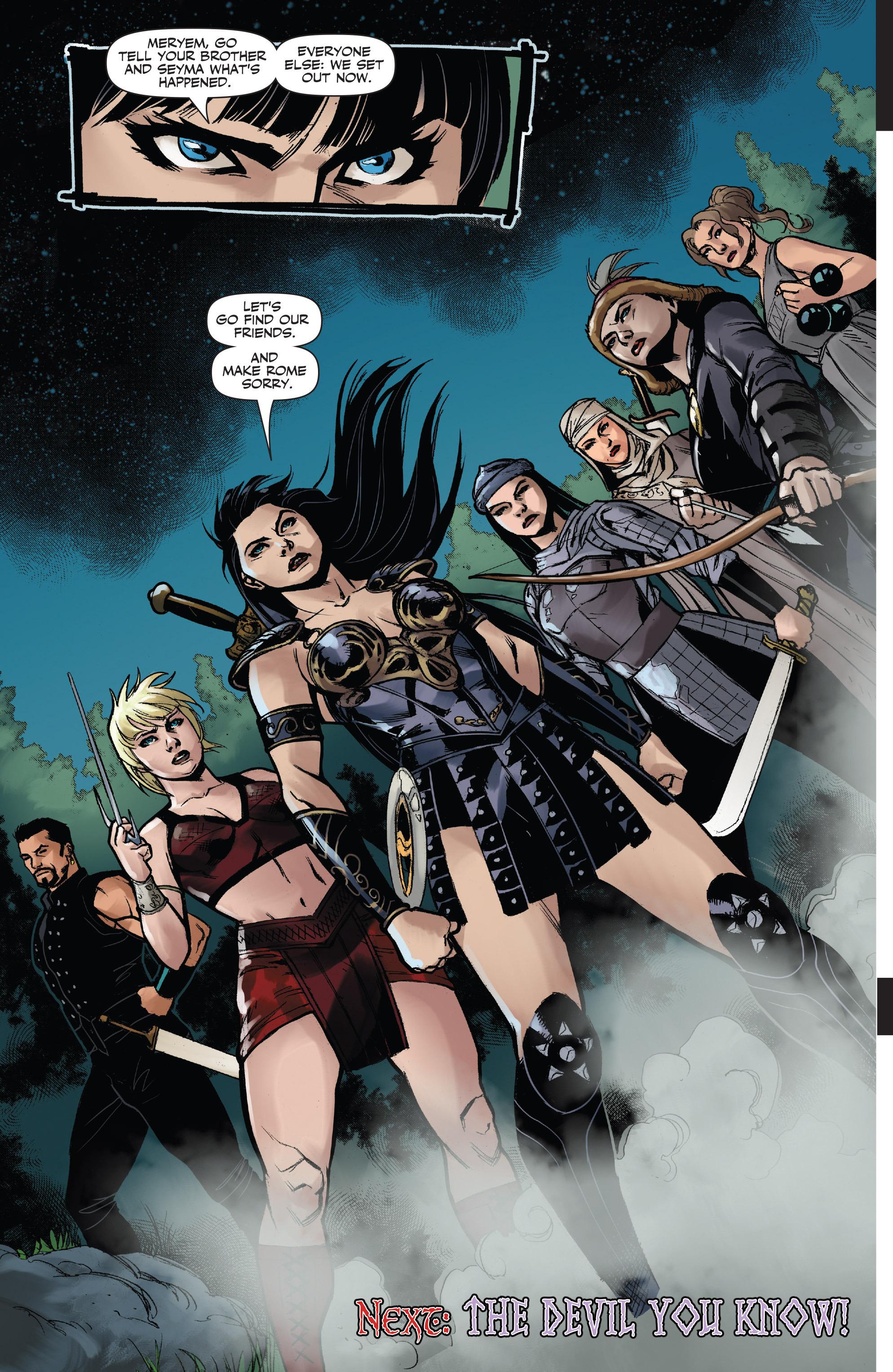 Read online Xena: Warrior Princess (2016) comic -  Issue #3 - 20