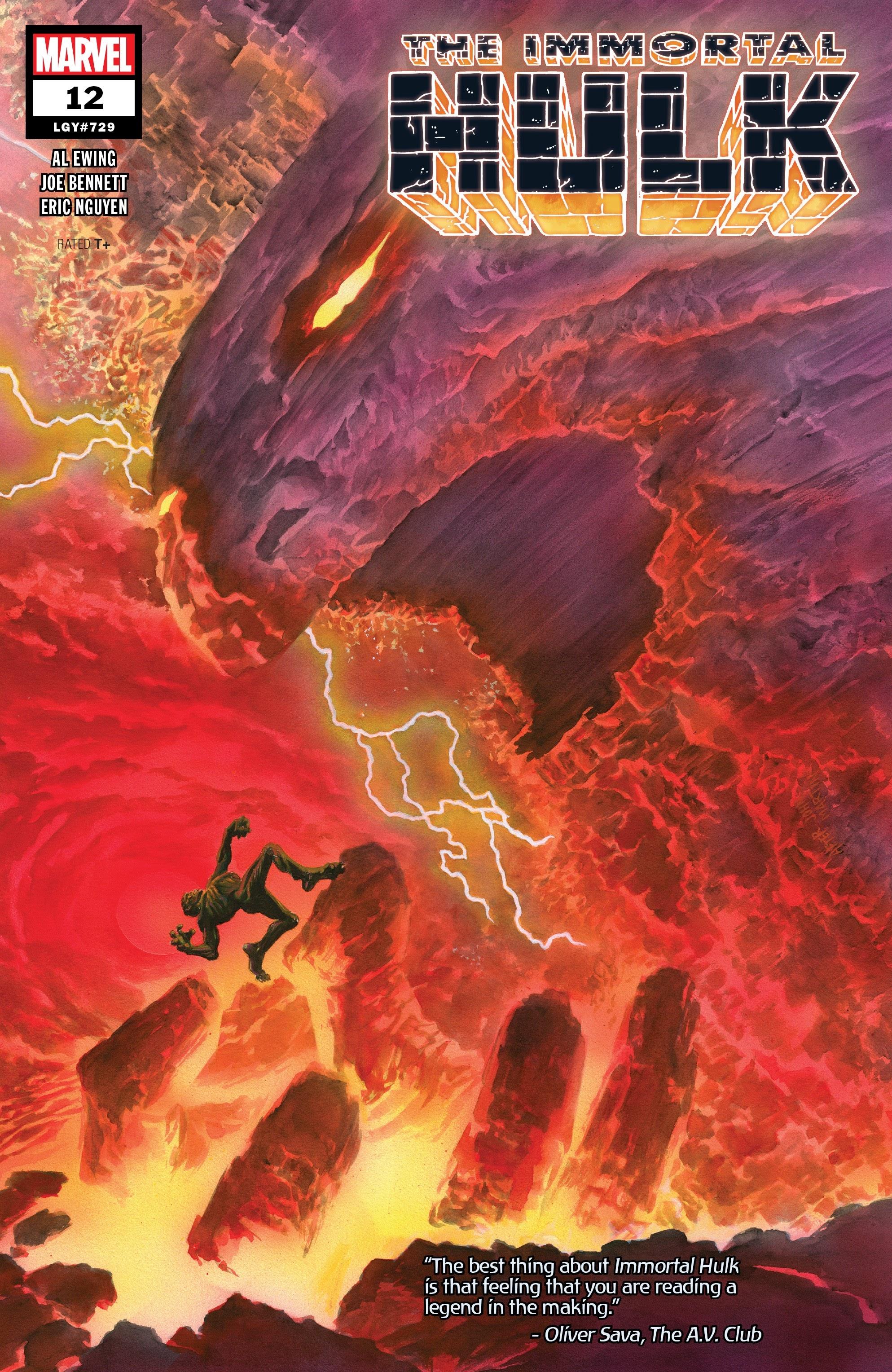 Immortal Hulk (2018) issue 12 - Page 1