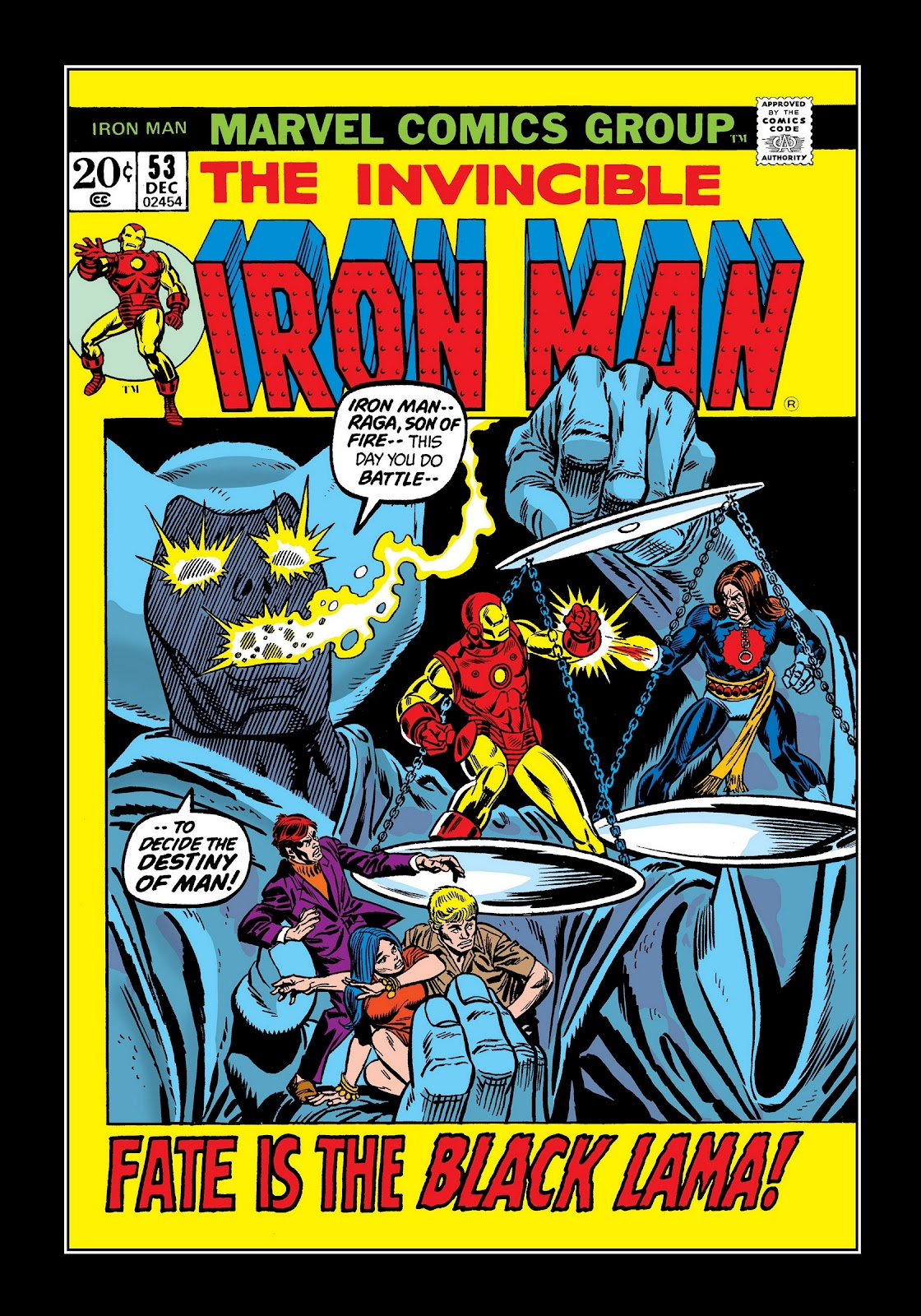 Read online Marvel Masterworks: The Invincible Iron Man comic -  Issue # TPB 8 (Part 3) - 94