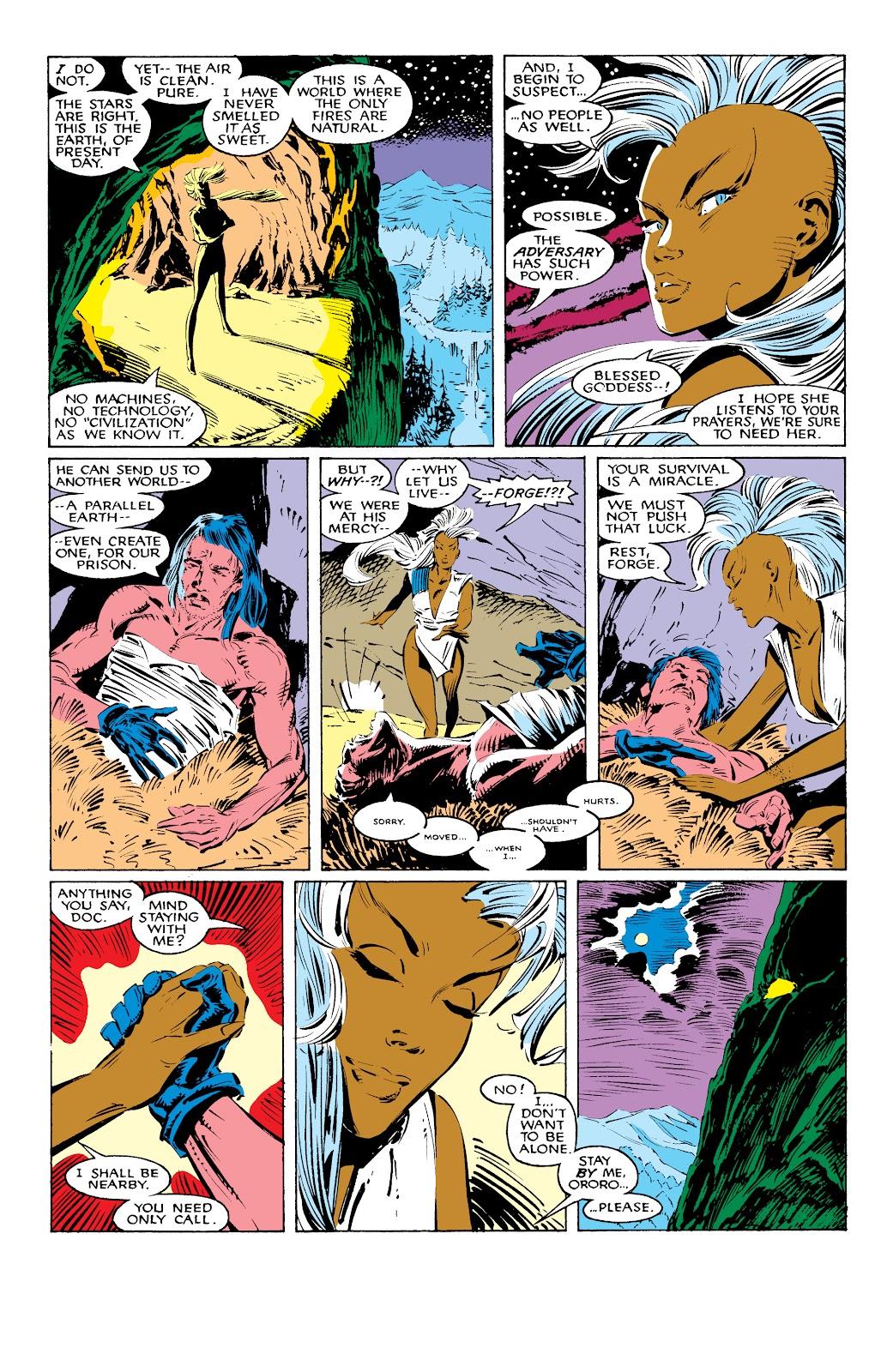 Read online X-Men Milestones: Fall of the Mutants comic -  Issue # TPB (Part 1) - 36
