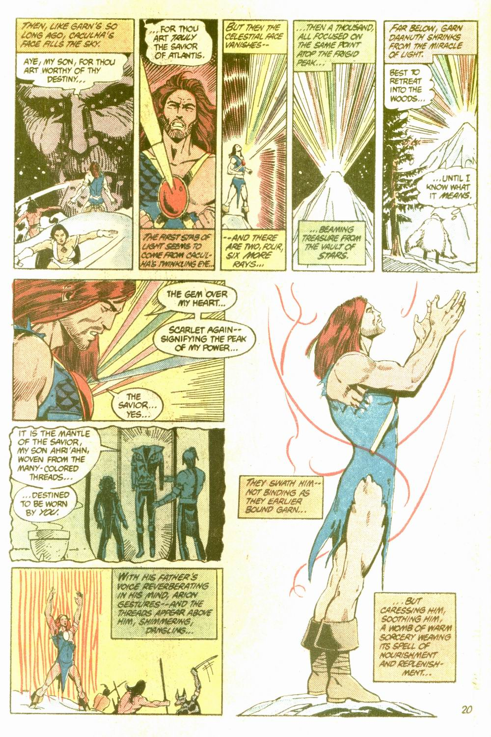 Read online Arion, Lord of Atlantis comic -  Issue #5 - 20