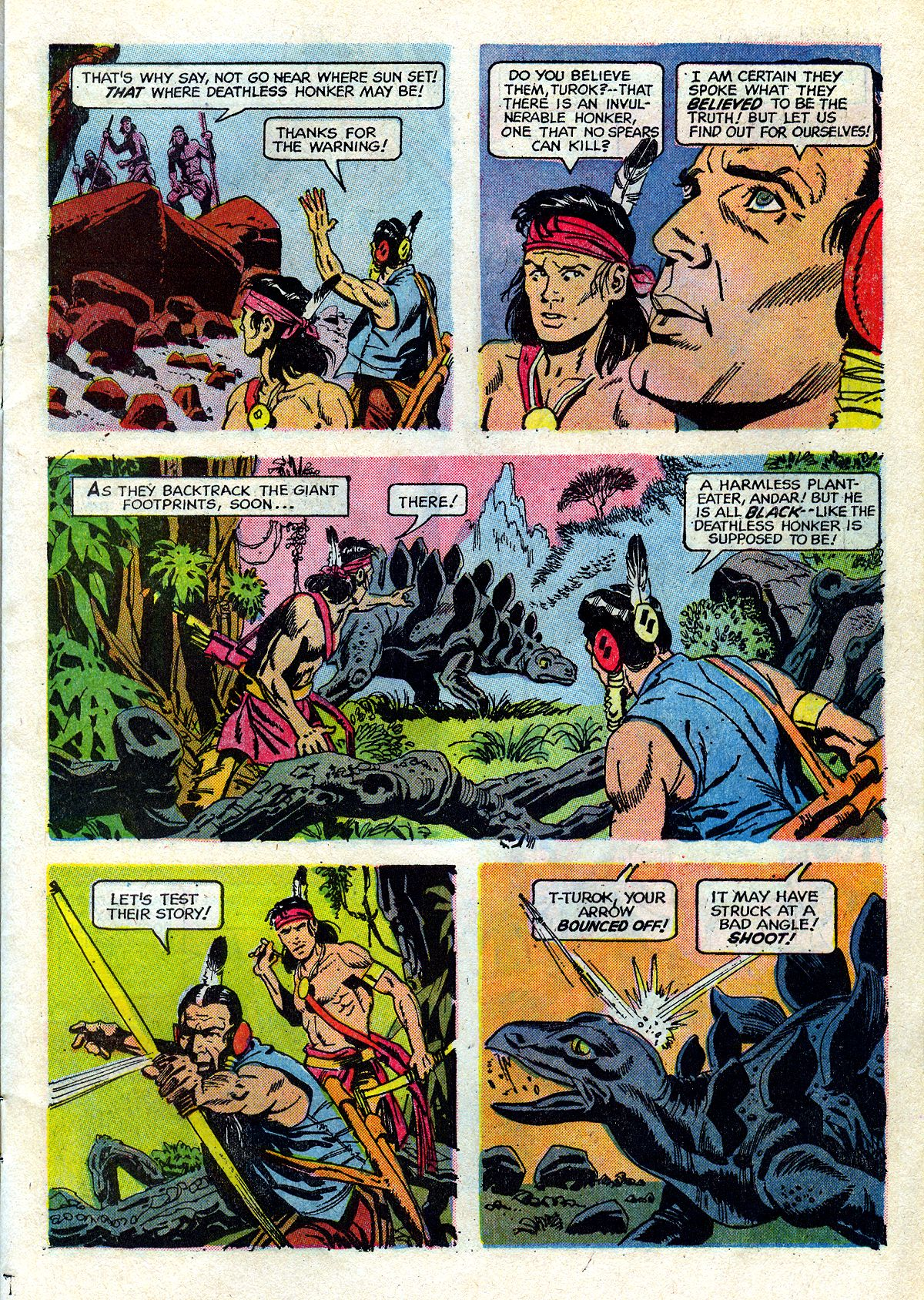 Read online Turok, Son of Stone comic -  Issue #72 - 7