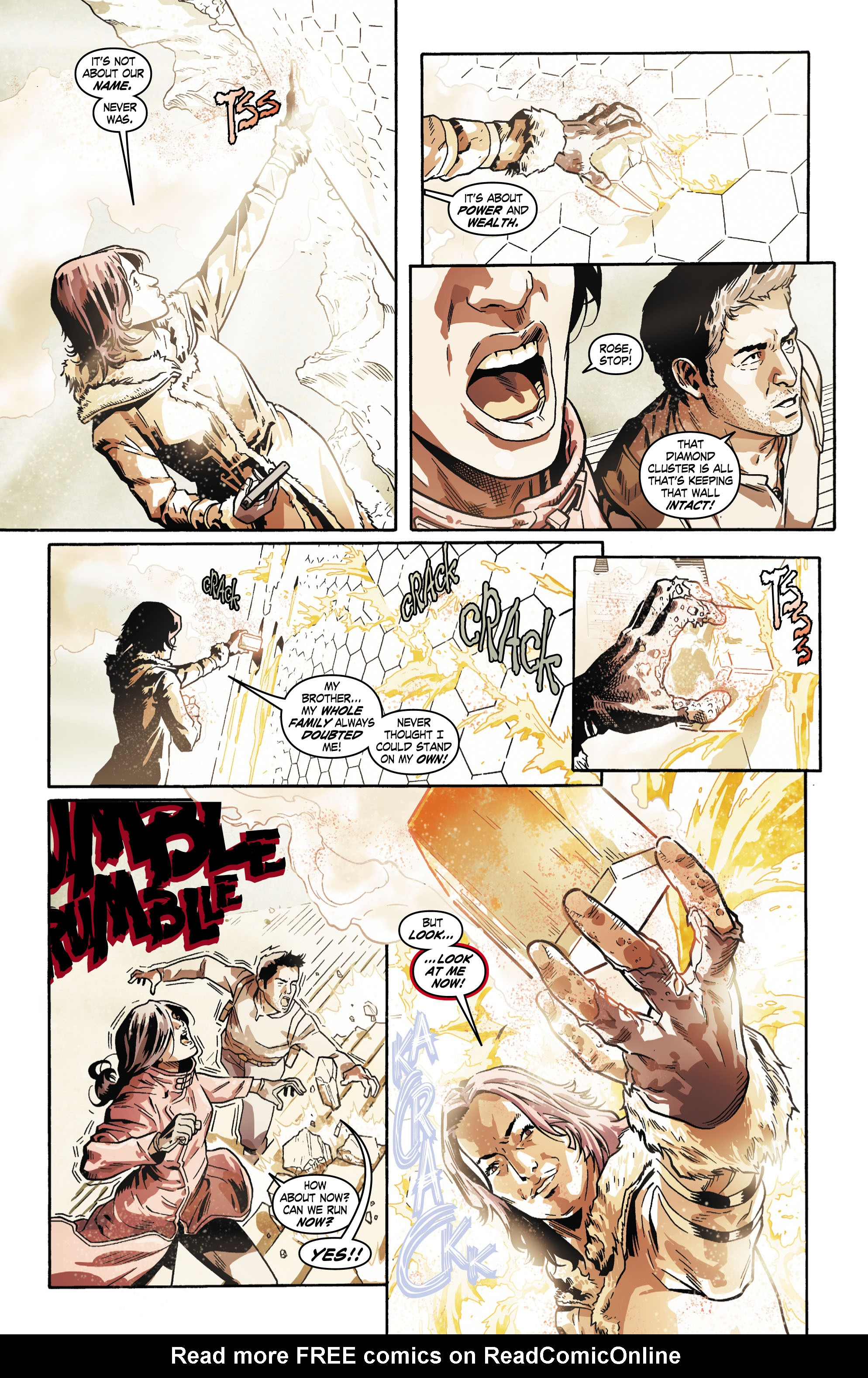 Read online Uncharted comic -  Issue #5 - 18