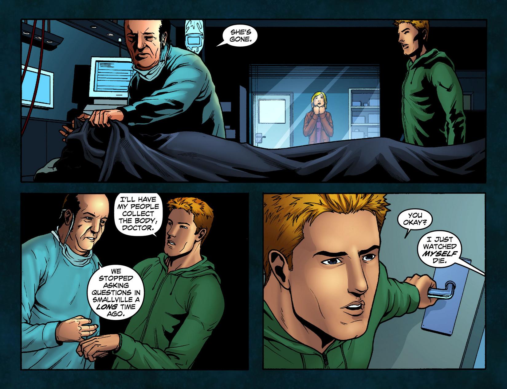 Read online Smallville: Season 11 comic -  Issue #12 - 16