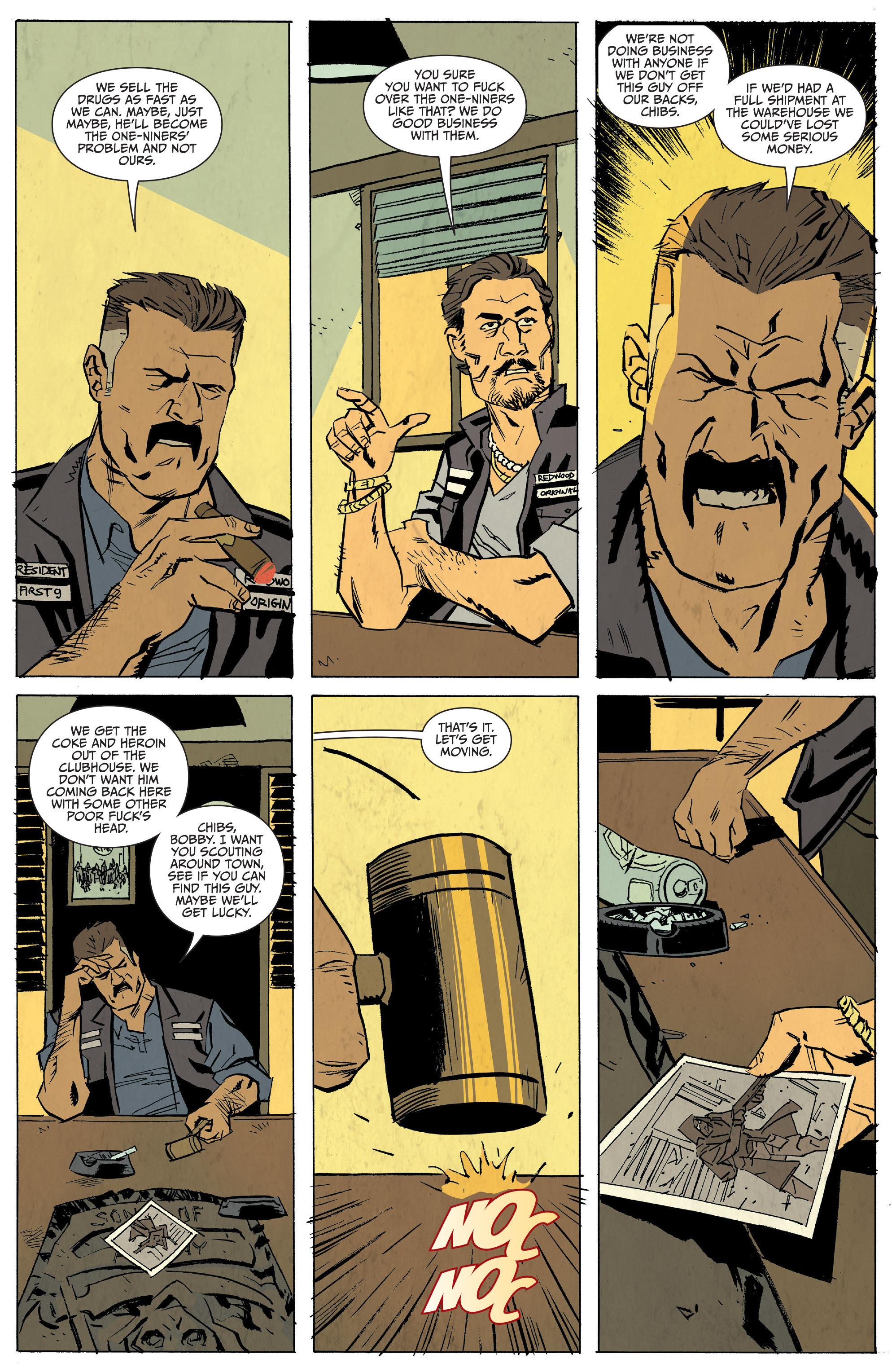 Read online Sons of Anarchy: Redwood Original comic -  Issue #5 - 11
