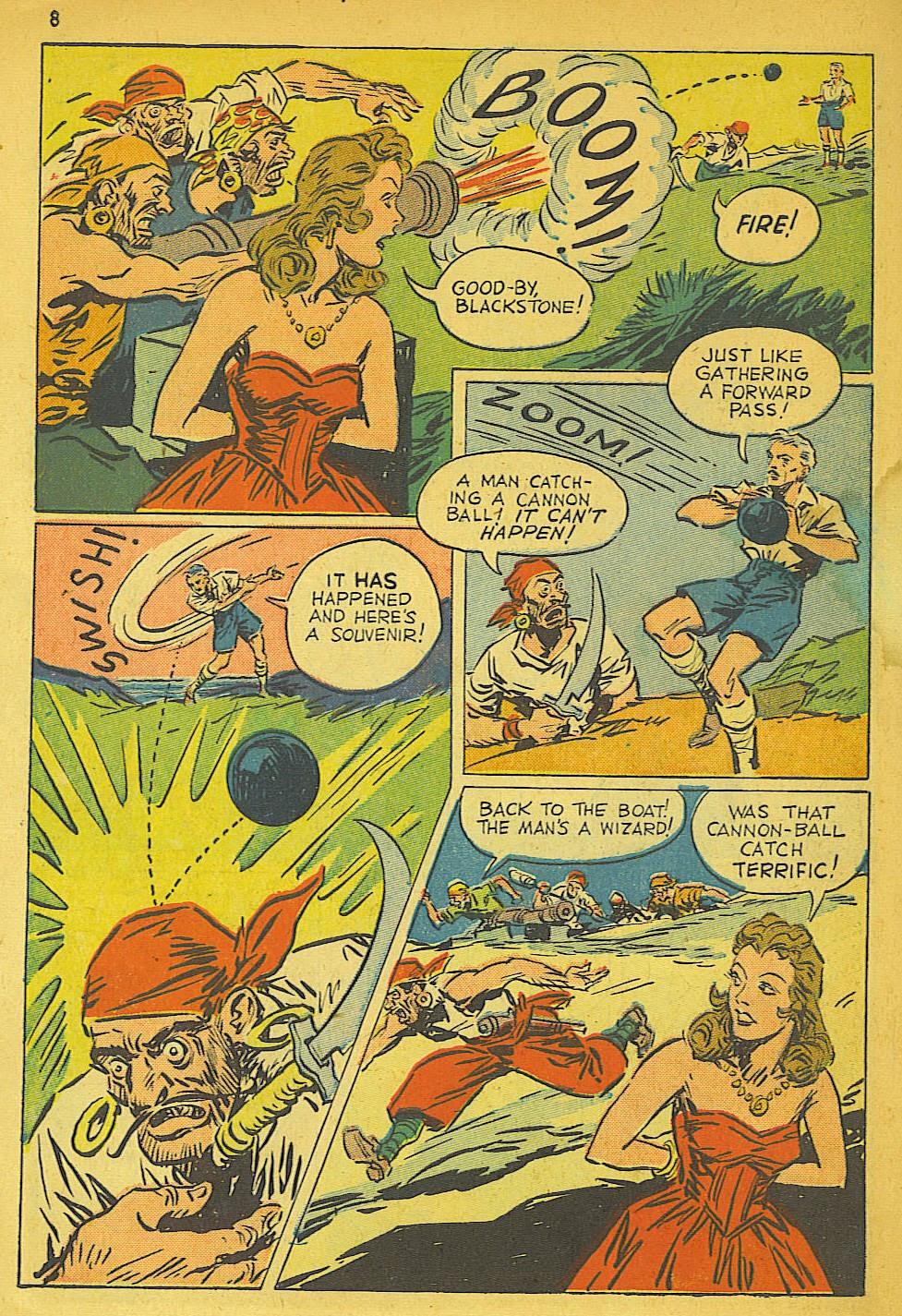 Read online Super-Magician Comics comic -  Issue #19 - 8