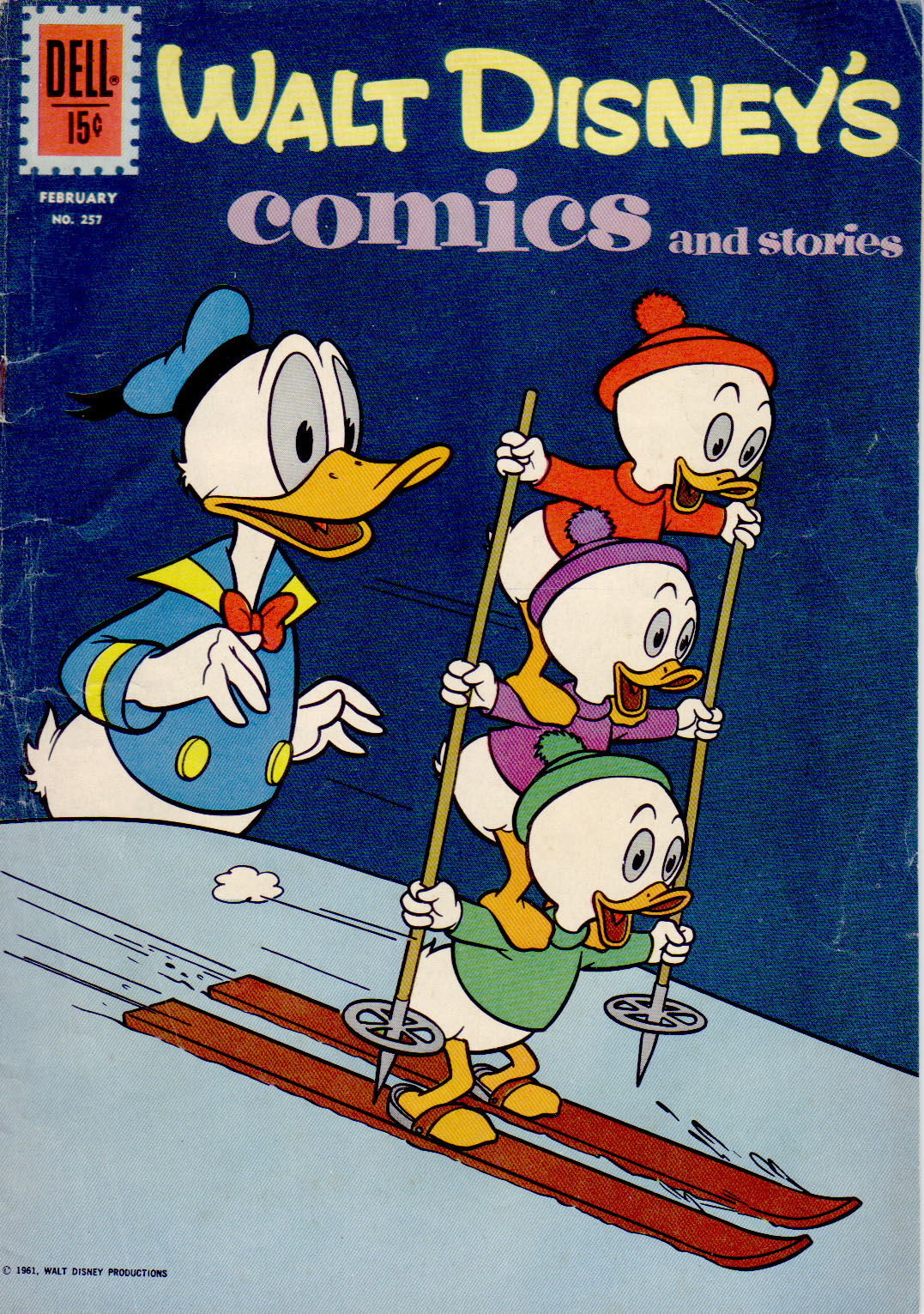 Walt Disney's Comics and Stories issue 257 - Page 1