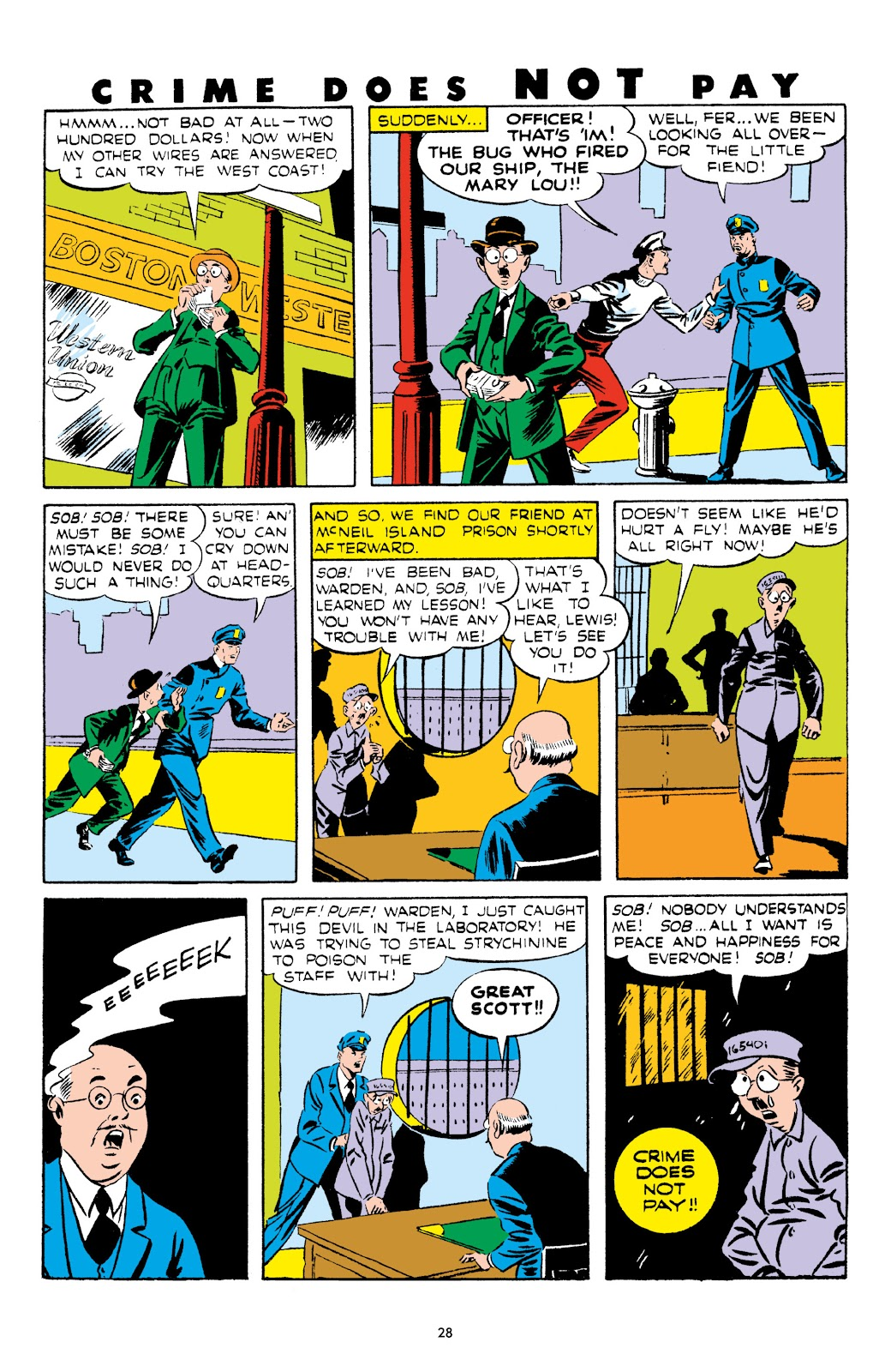 Read online Crime Does Not Pay Archives comic -  Issue # TPB 5 (Part 1) - 28