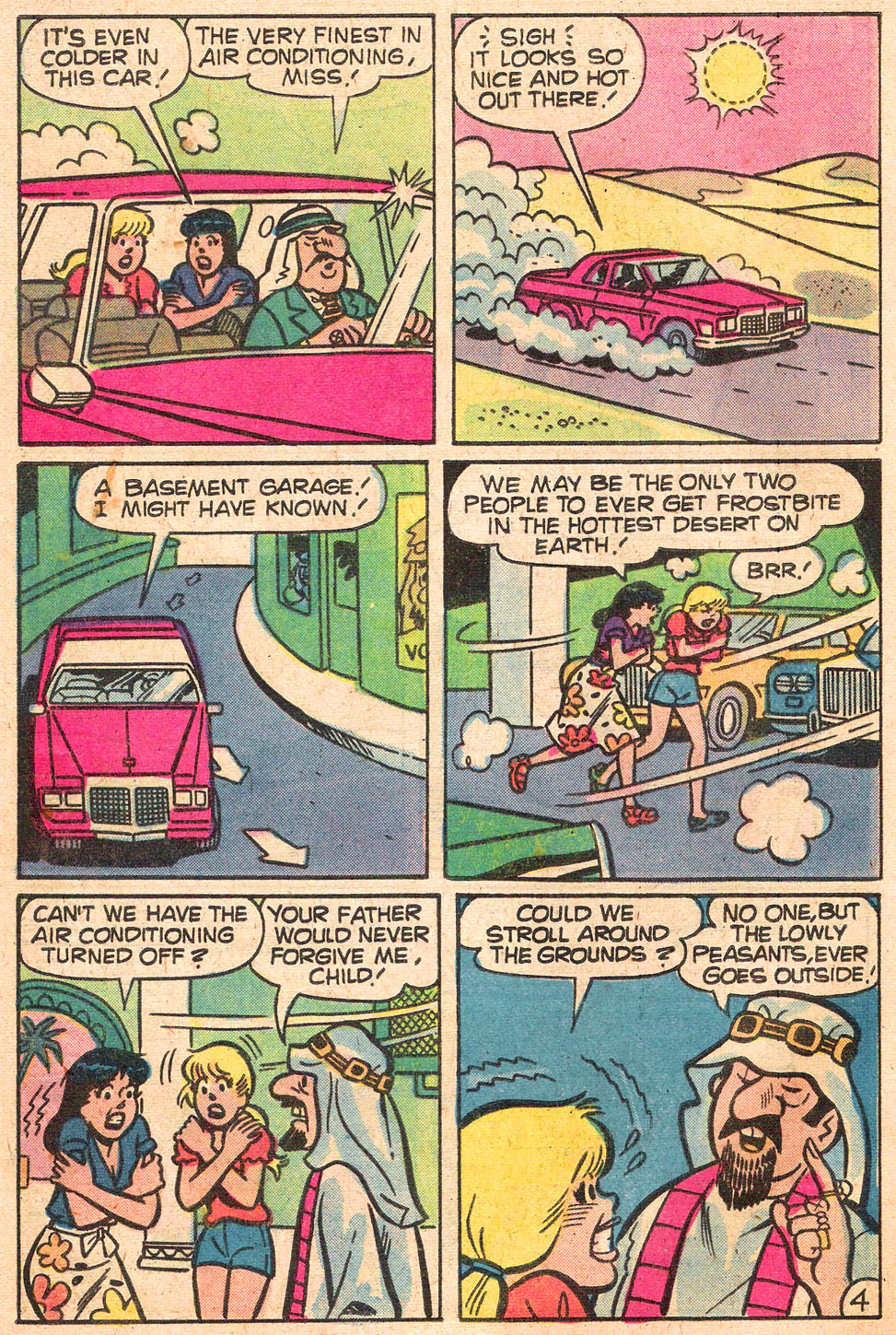 Read online Archie's Girls Betty and Veronica comic -  Issue #280 - 32