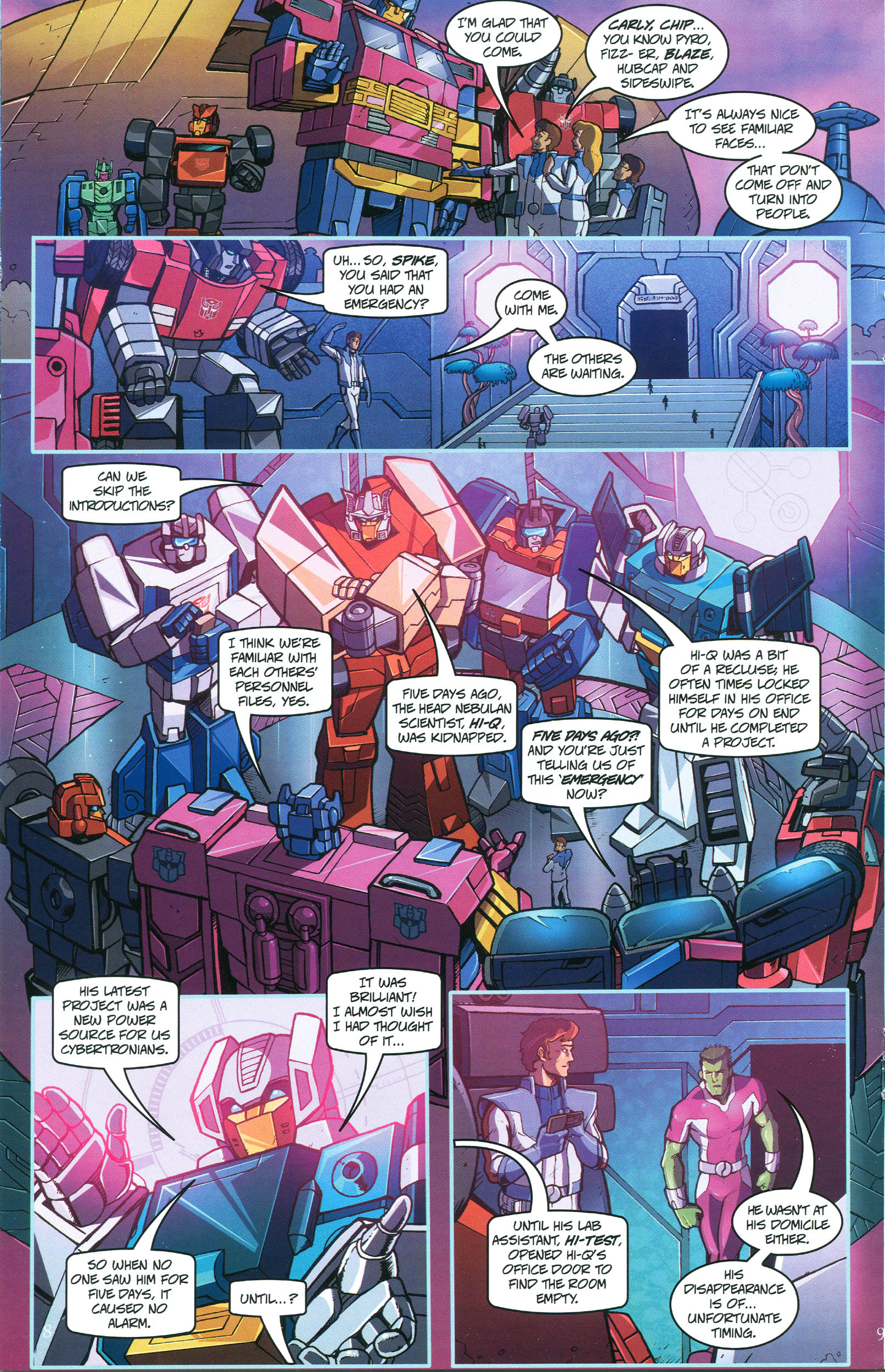 Read online Transformers: Collectors' Club comic -  Issue #45 - 8