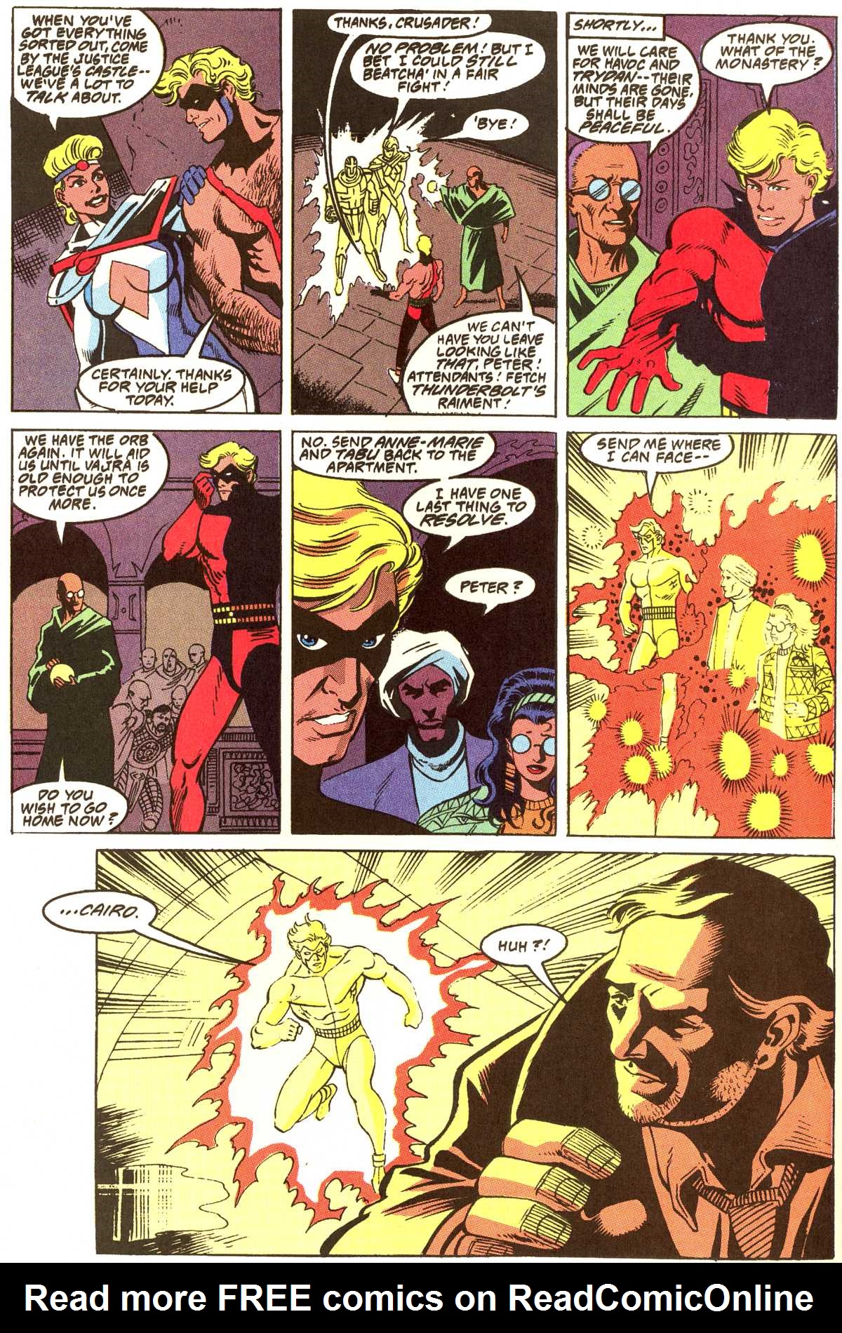 Read online Peter Cannon--Thunderbolt (1992) comic -  Issue #12 - 14