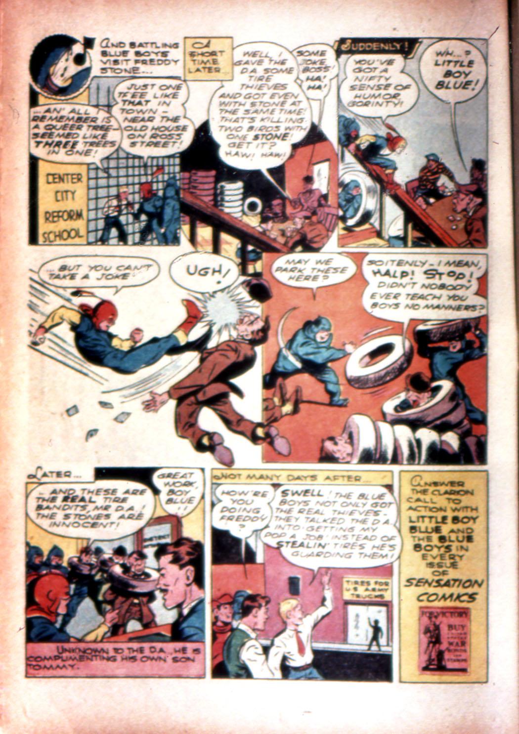 Read online Sensation (Mystery) Comics comic -  Issue #20 - 30