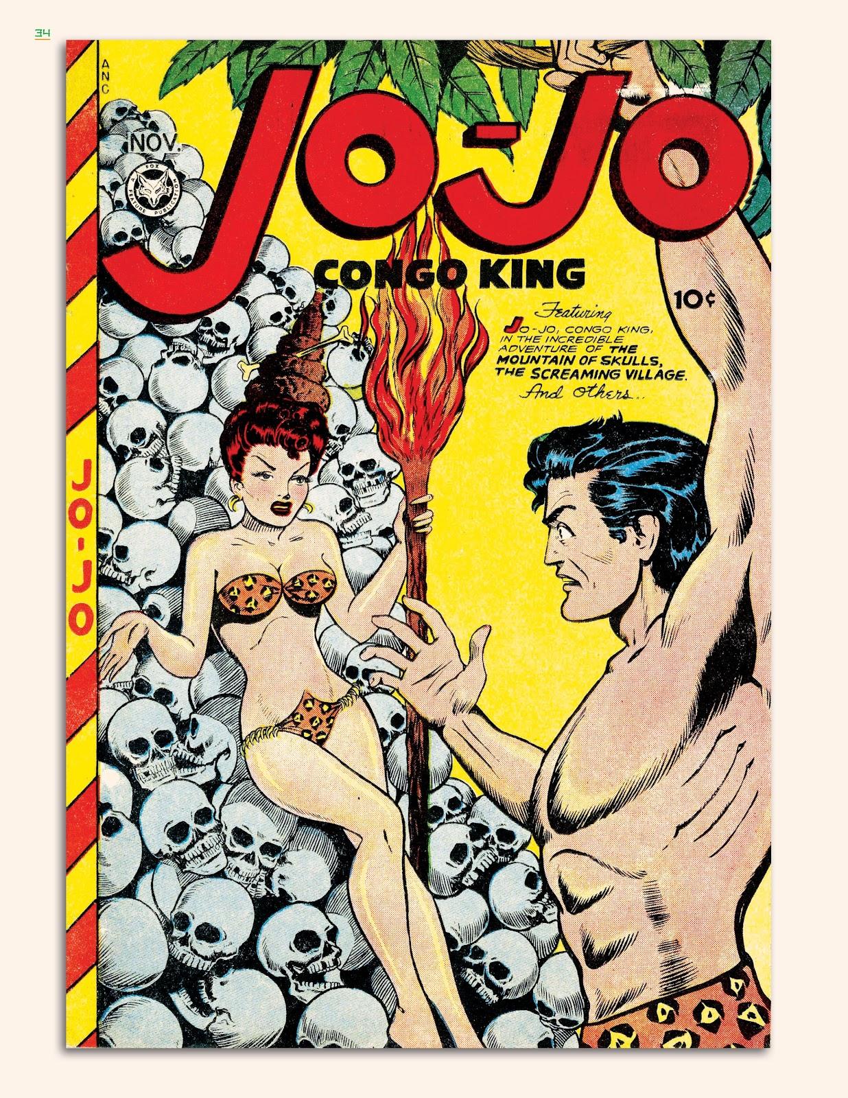 Read online Jungle Girls comic -  Issue # TPB (Part 1) - 35