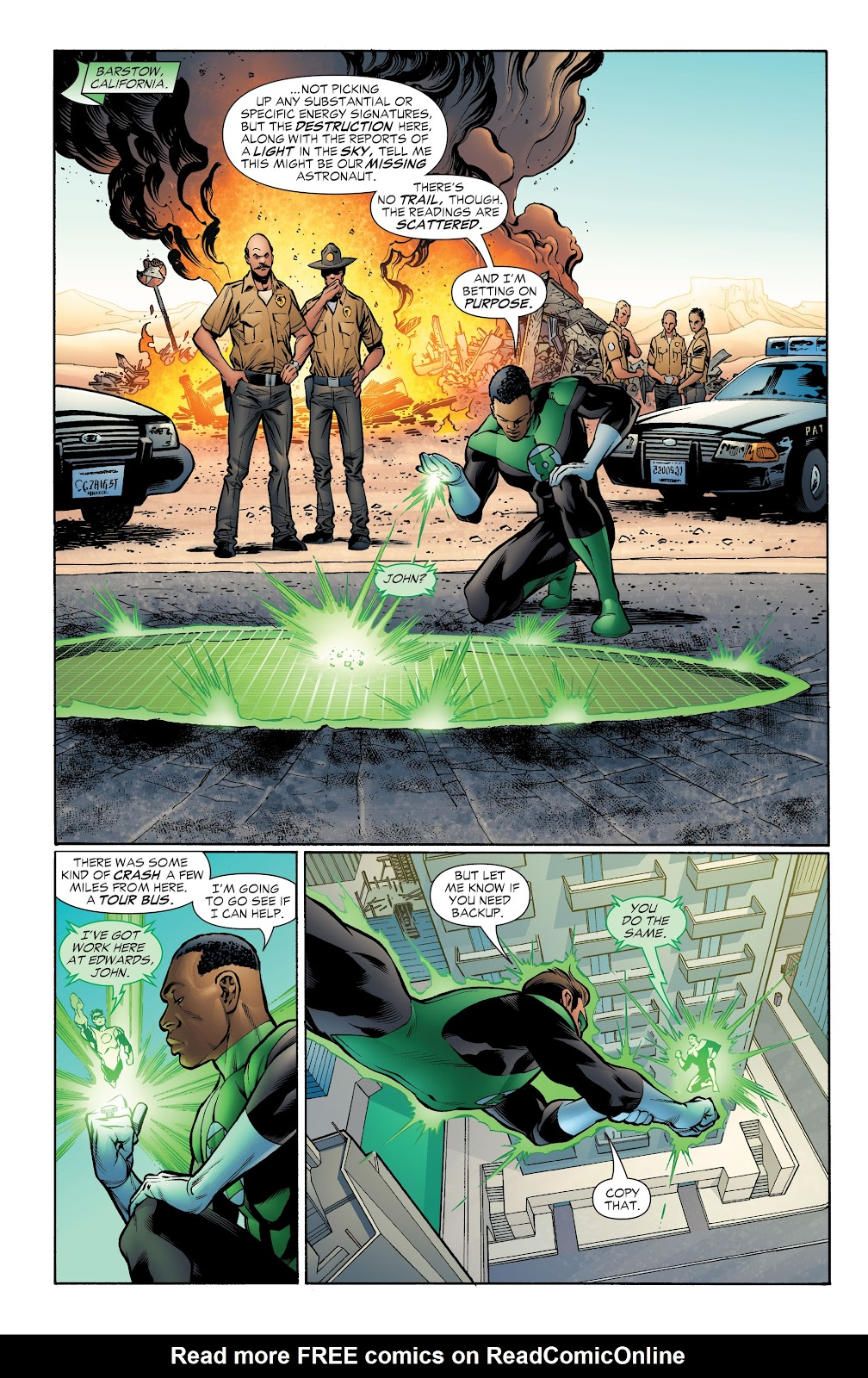 Read online Green Lantern by Geoff Johns comic -  Issue # TPB 1 (Part 4) - 31
