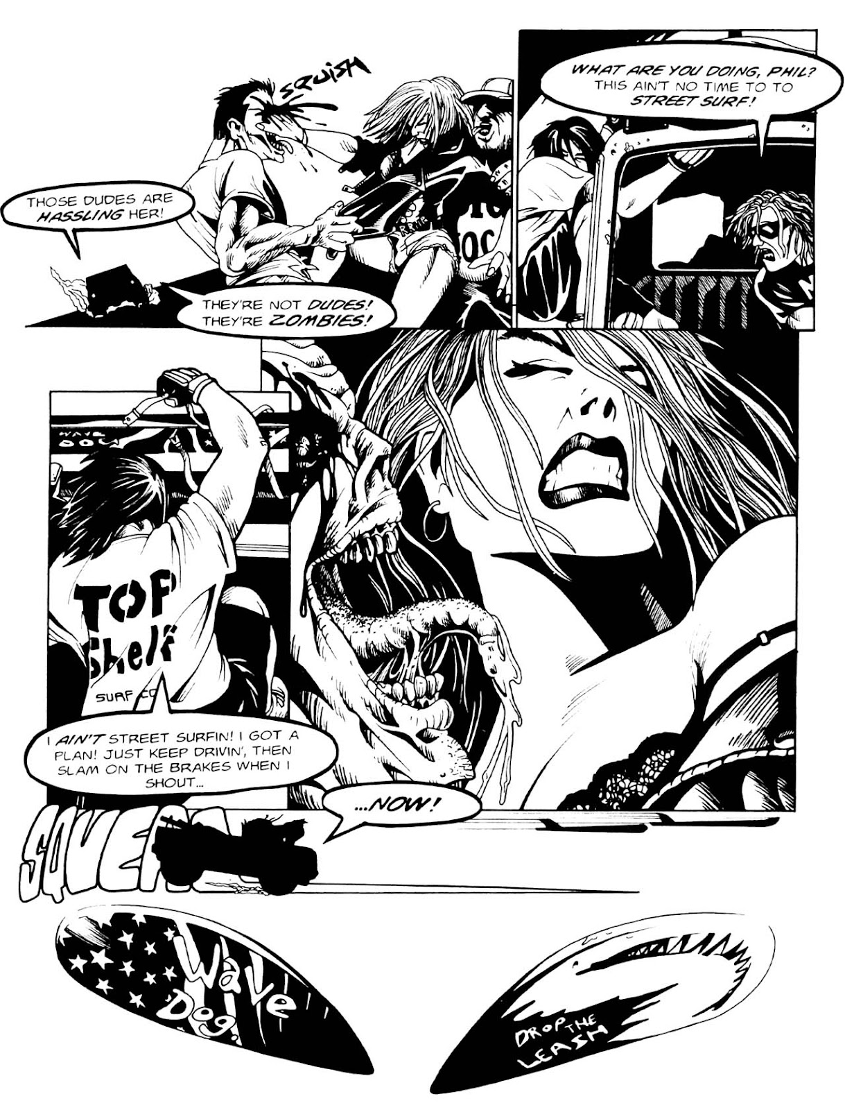 Read online Night of the Living Dead (1994) comic -  Issue #1 - 13