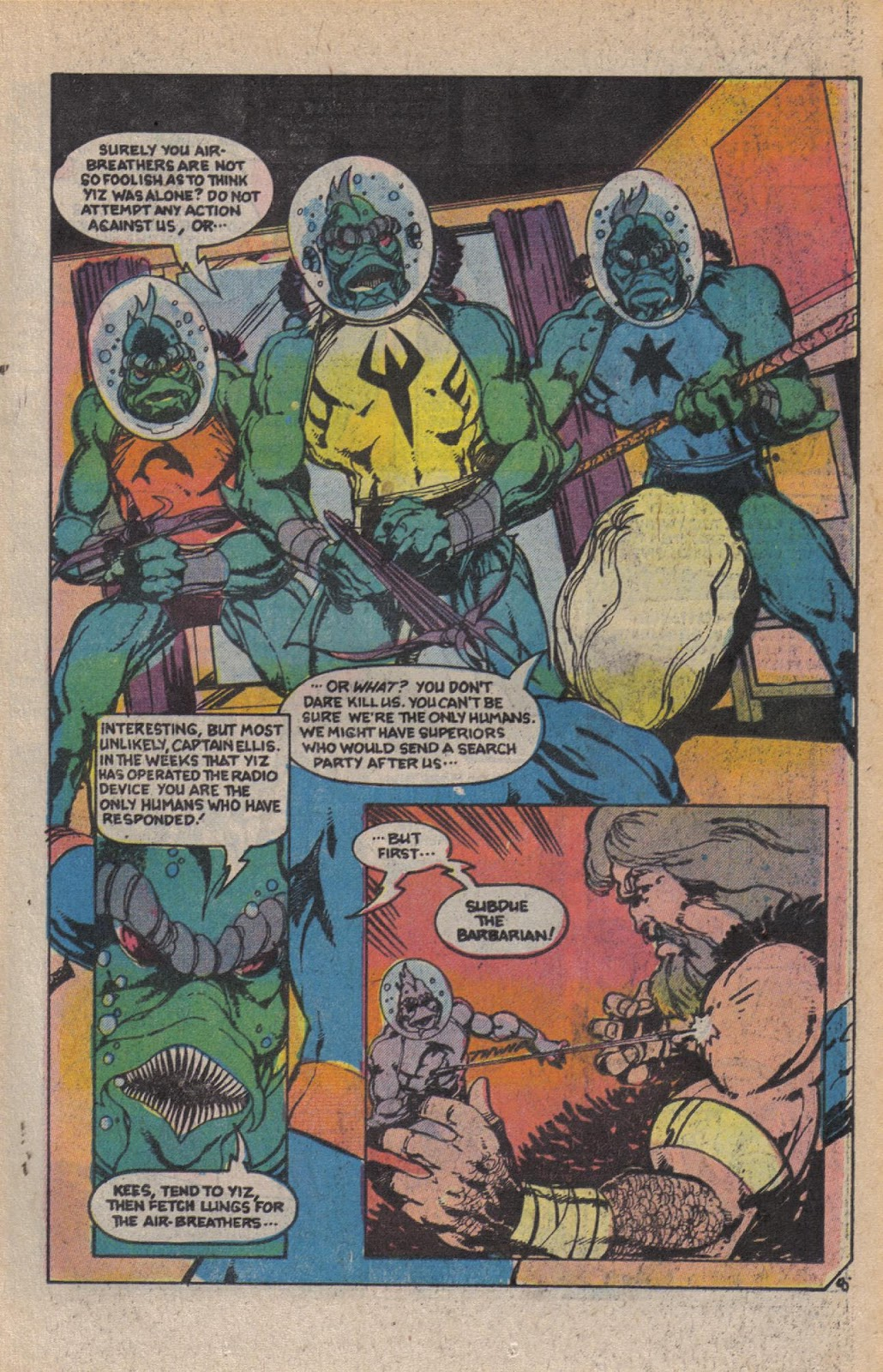 Read online Doomsday   1 (1975) comic -  Issue #10 - 11
