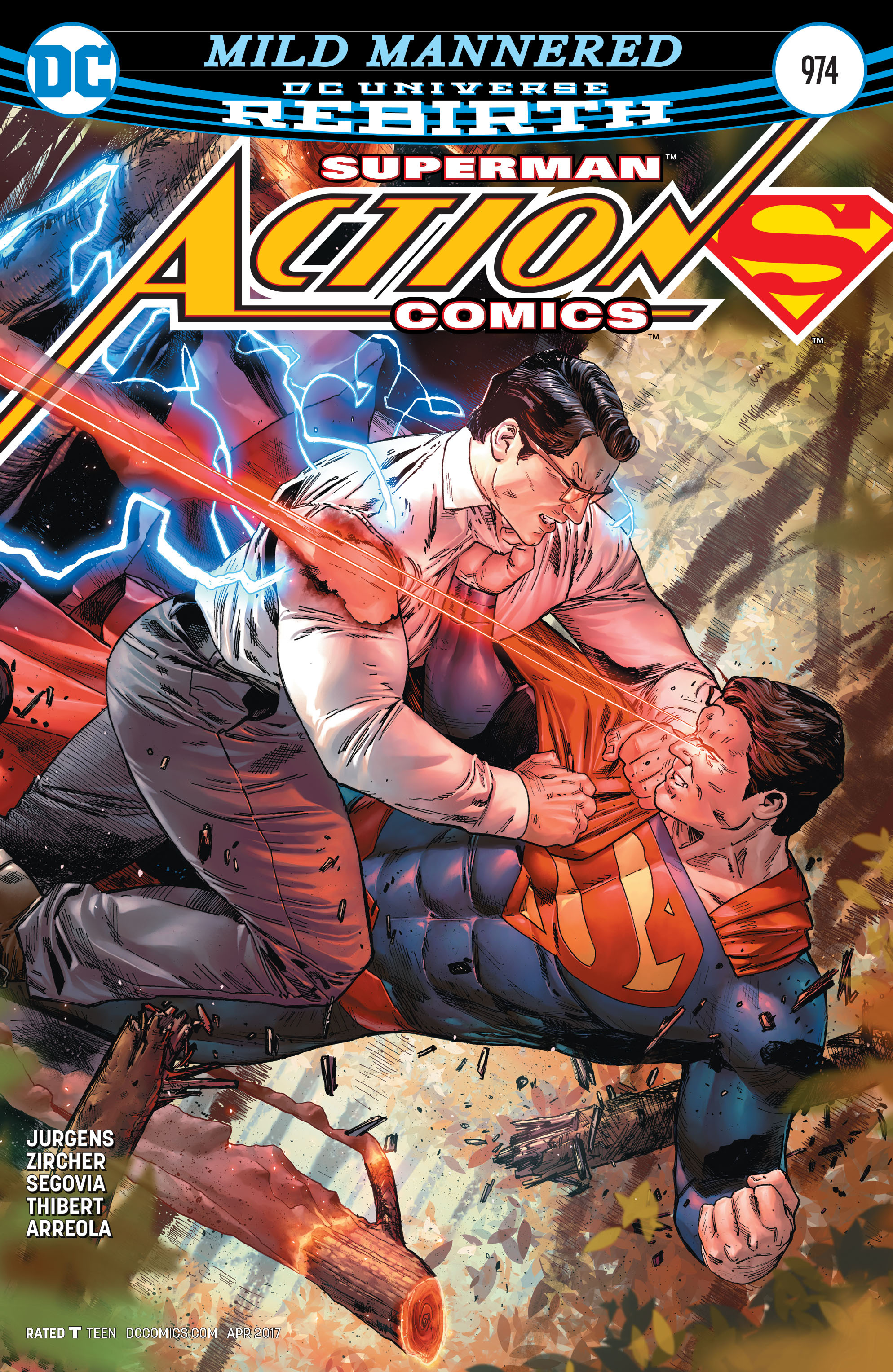 Read online Action Comics (2016) comic -  Issue #974 - 1