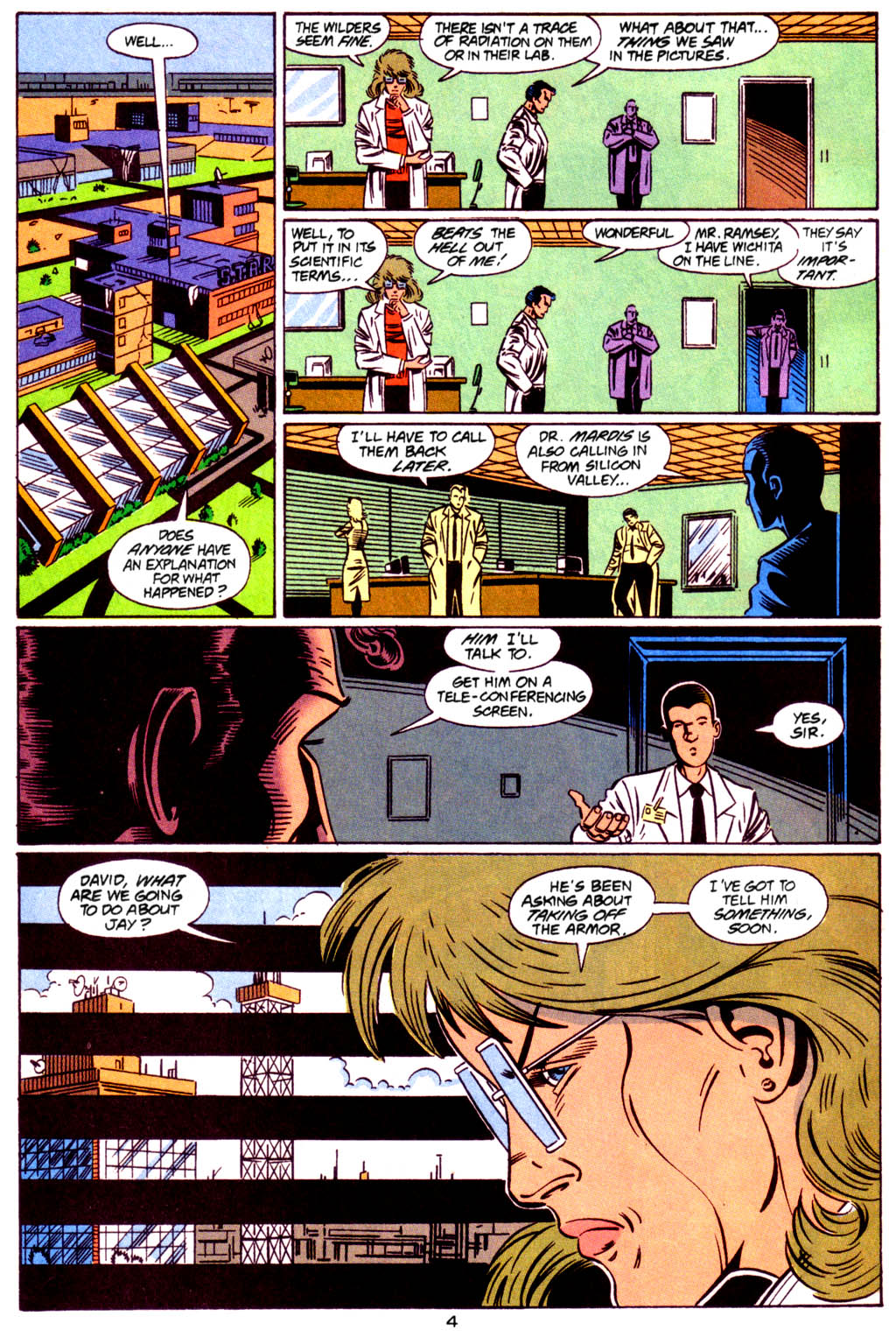 Read online S.T.A.R. Corps comic -  Issue #2 - 5